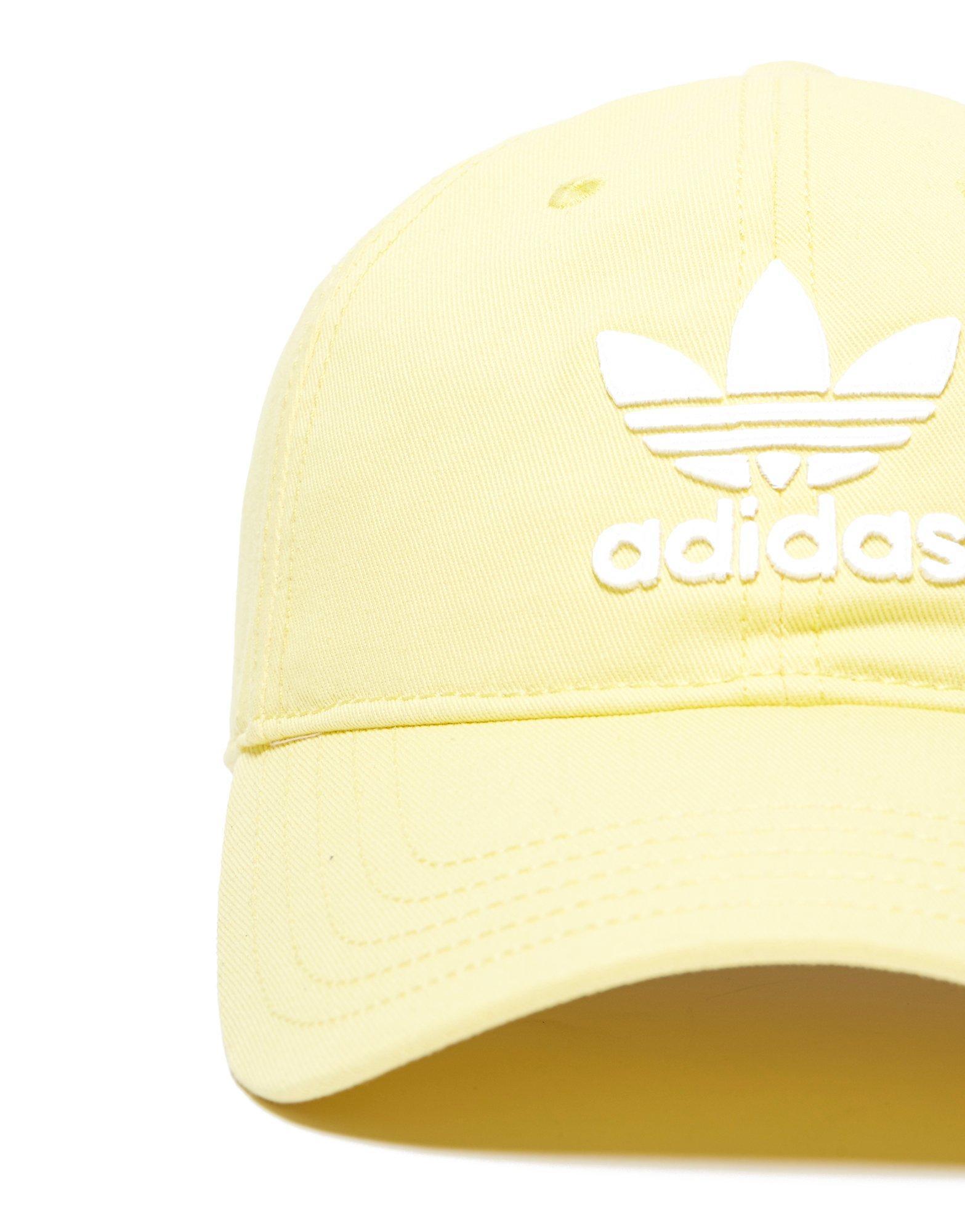 a65ef2efd1f Lyst - adidas Originals Trefoil Classic Cap in Yellow for Men