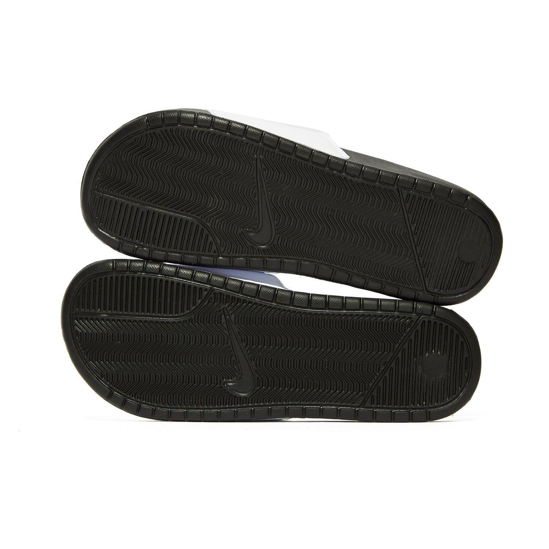 c672929d56a7 Nike - Black Benassi Just Do It Slides for Men - Lyst. View fullscreen