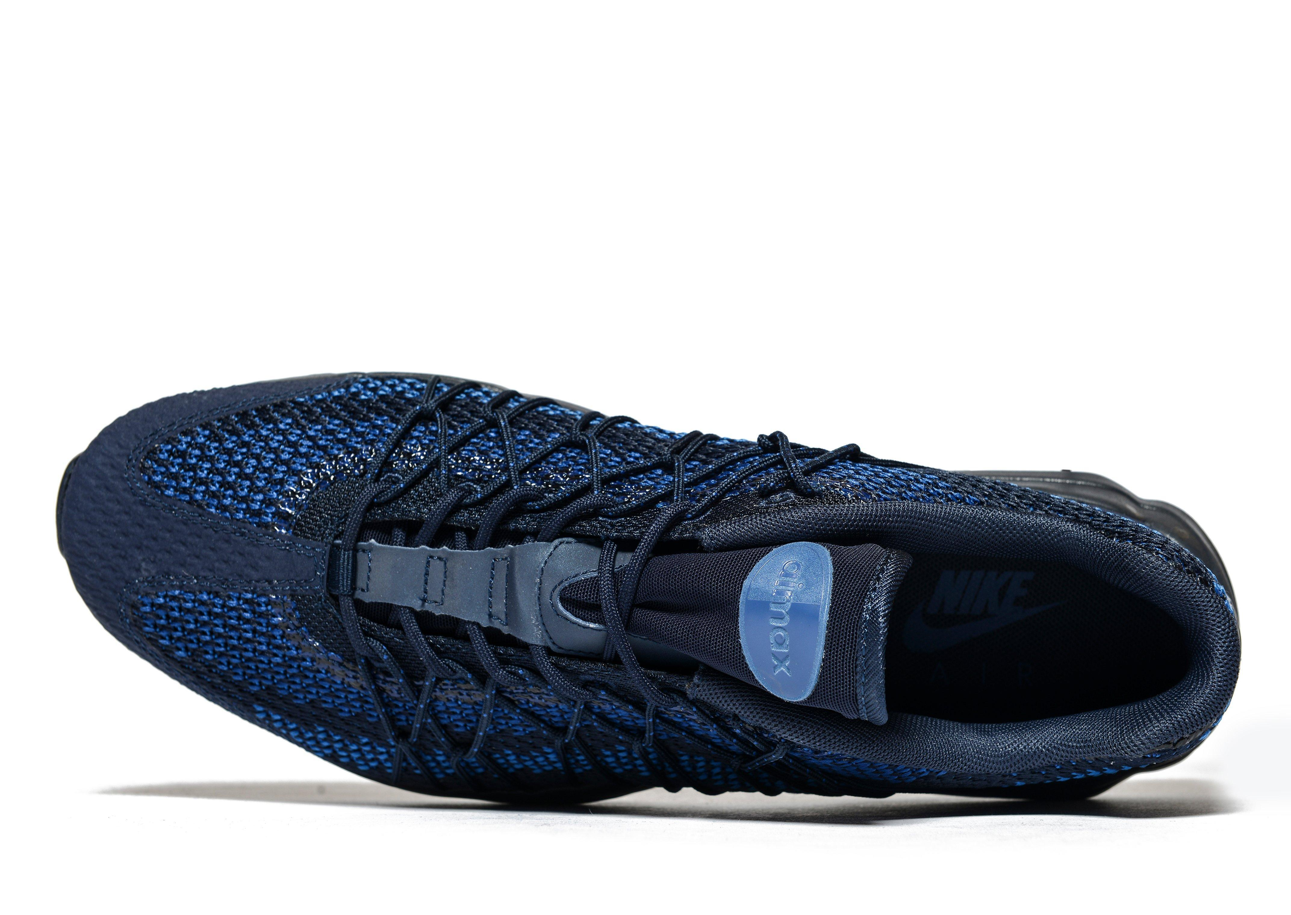 reputable site 0b088 41f4a Nike Air Max 95 Ultra Jacquard in Blue for Men - Lyst