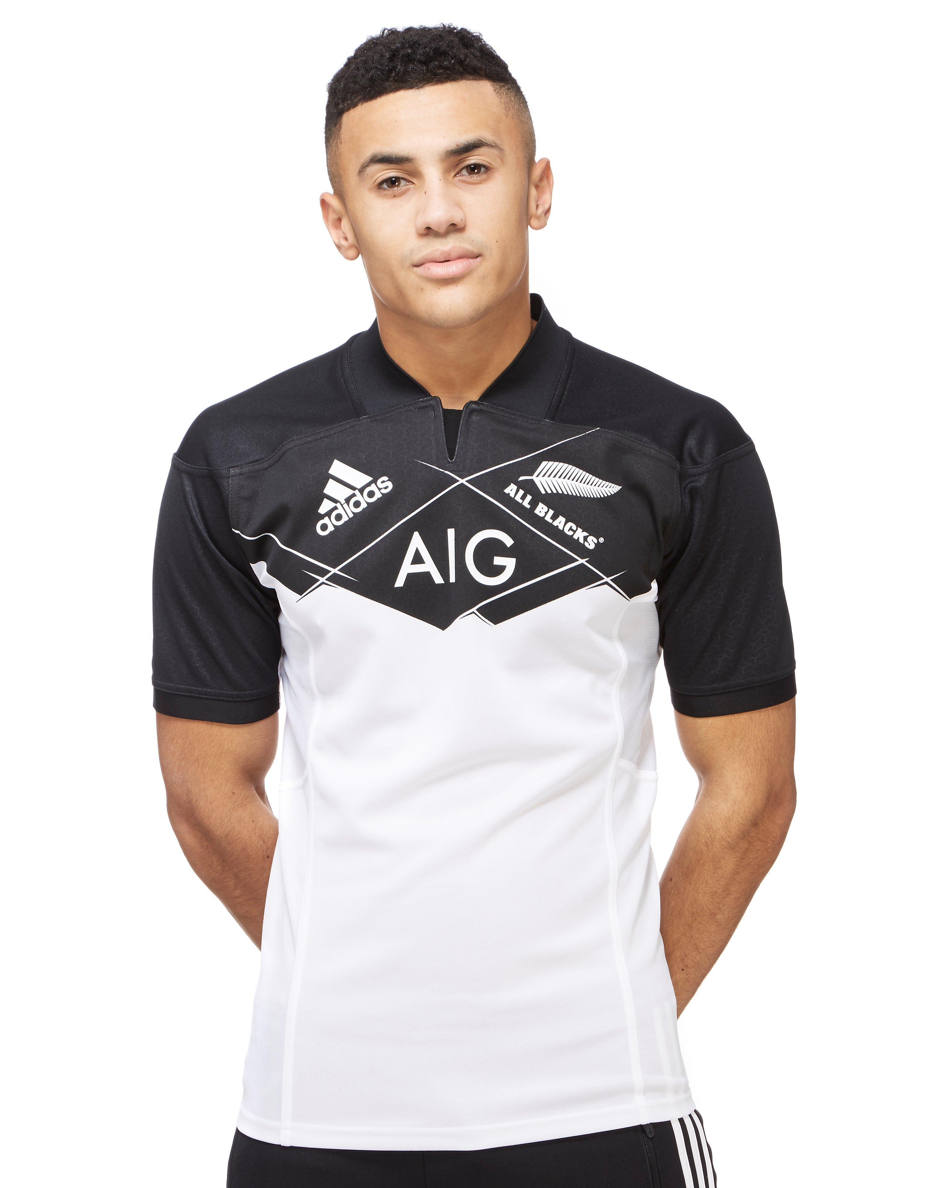 new styles d4d88 c91af Lyst - adidas All Blacks Away 2016 17 Shirt in White for Men