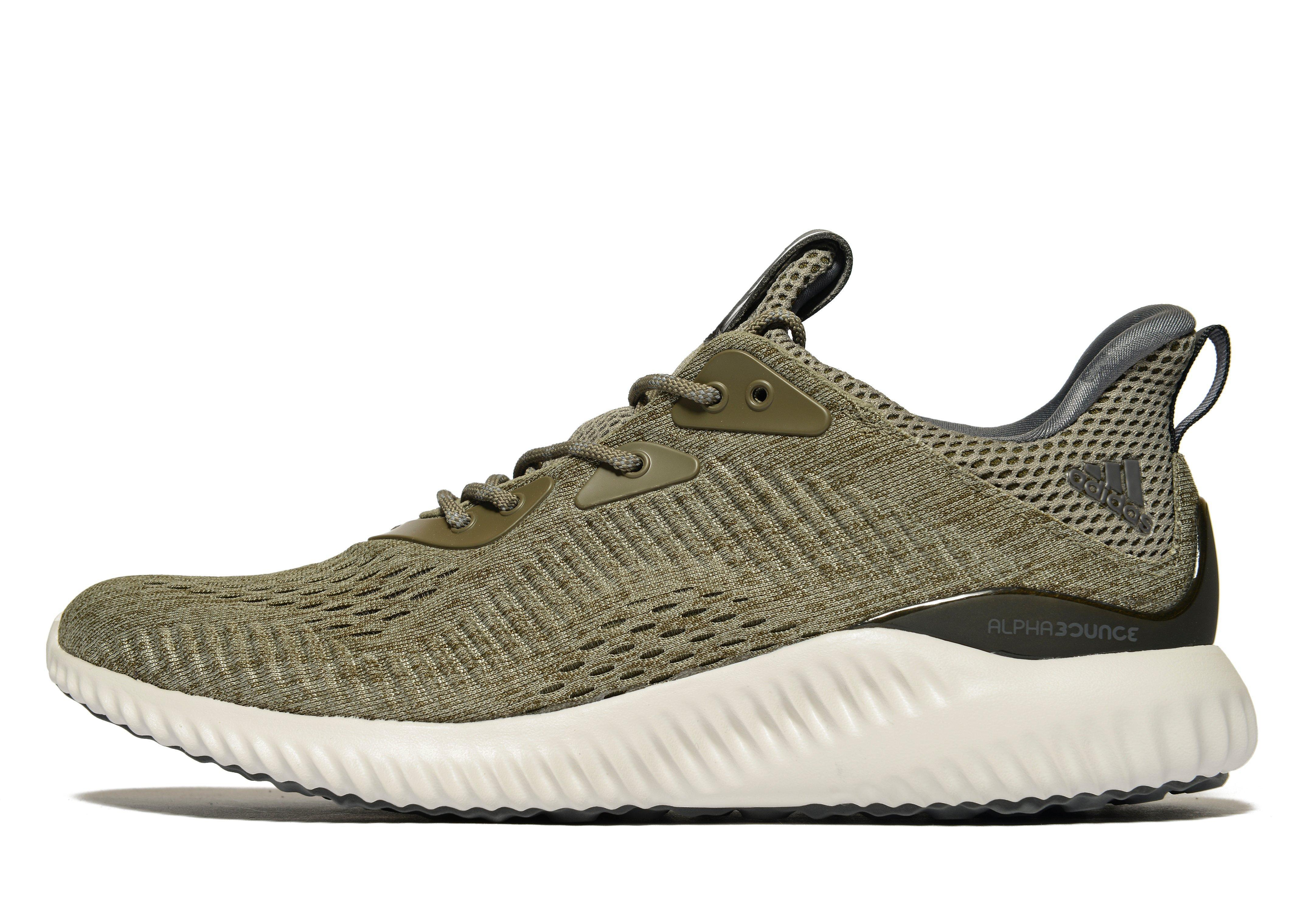 1a8119c294f7 ... where can i buy Lyst - Adidas Alpha Bounce in Green for Men c9fe9 17a64  ...