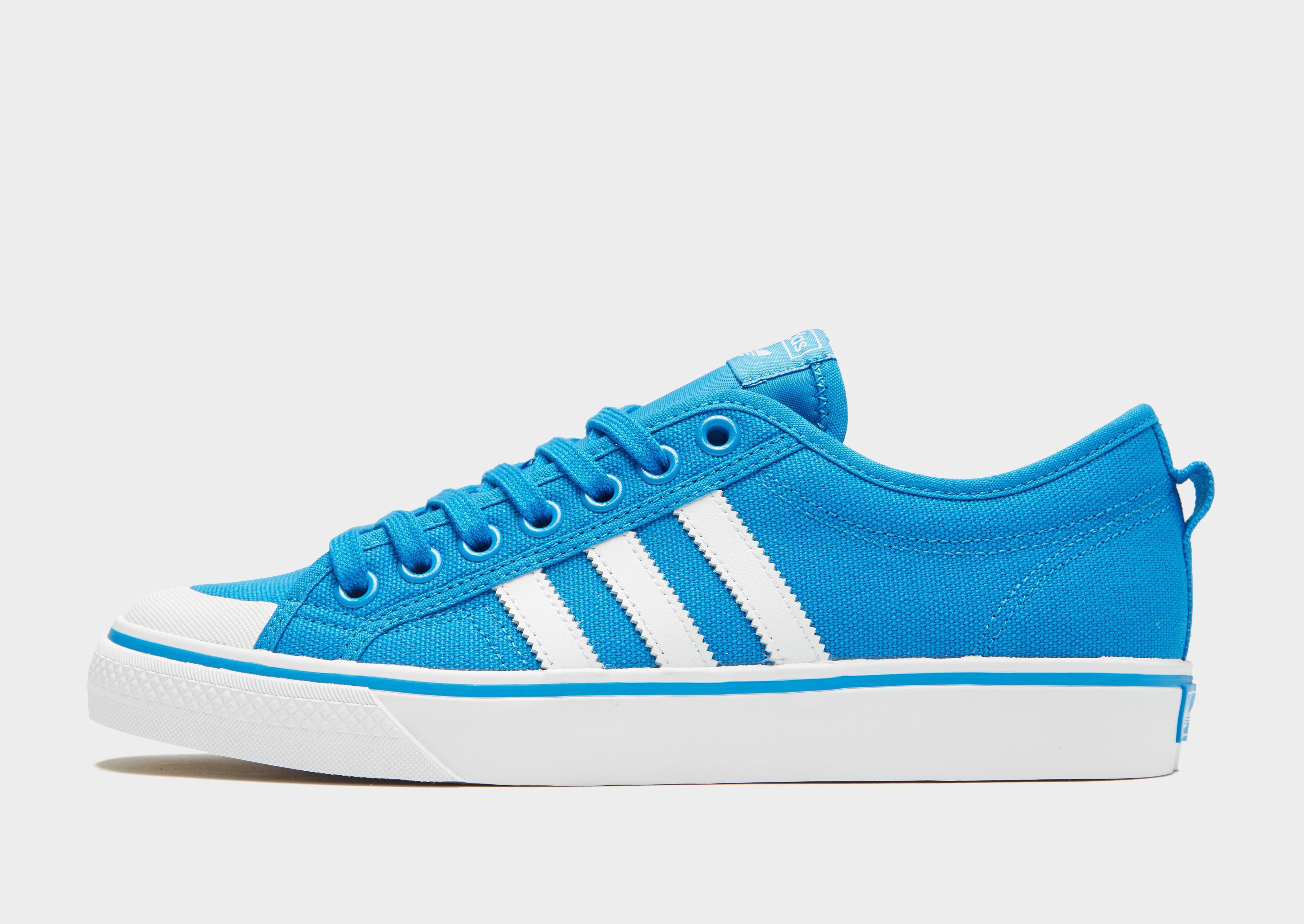 the best attitude eb352 3355e ... adidas Originals. Men s Blue Nizza Lo ...