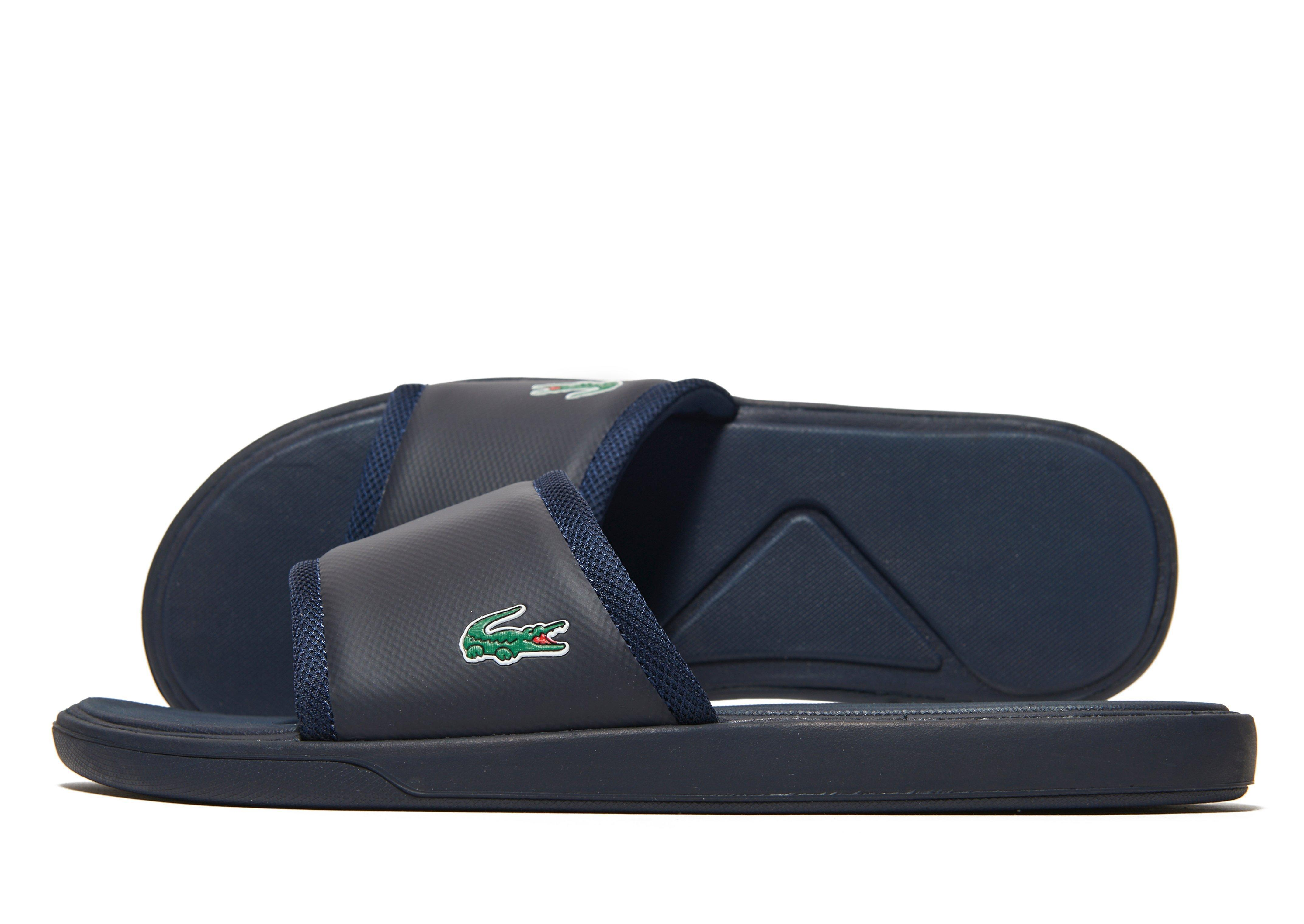 dad5c508134 Lyst - Lacoste L30 Slide in Blue for Men
