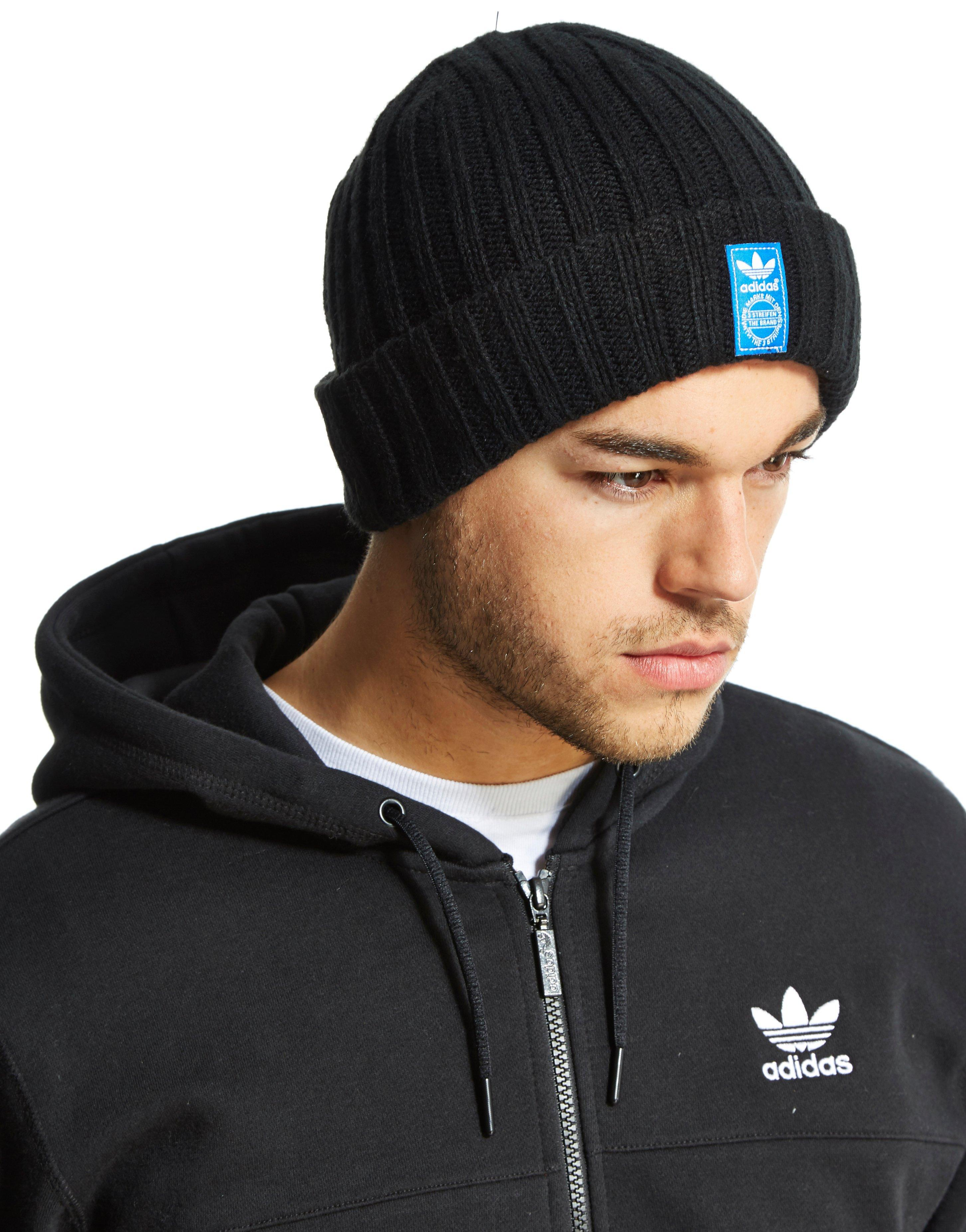 456f43d8257 Lyst - adidas Originals Fisherman Beanie in Black for Men
