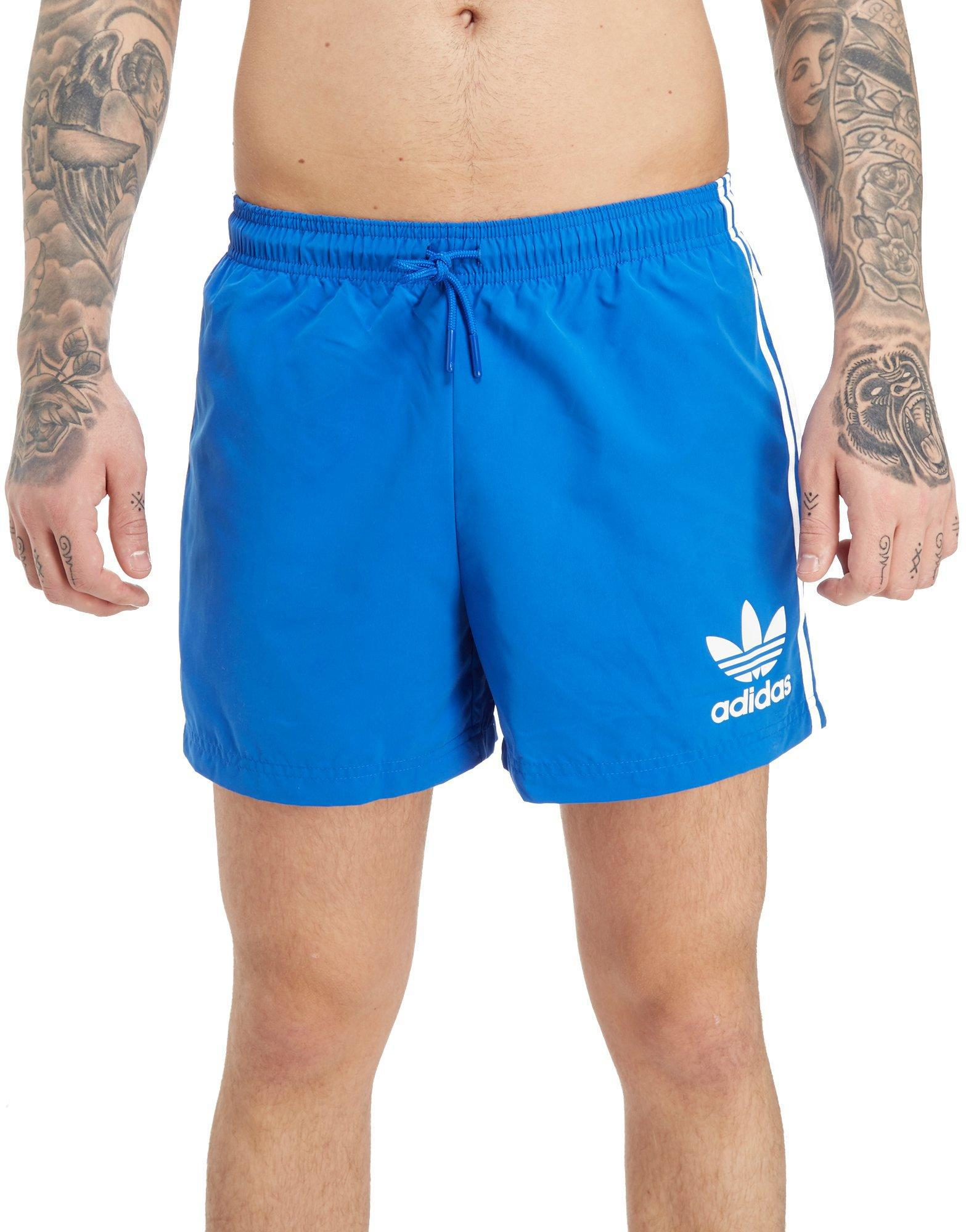 cab920a4a49e9f adidas Originals California Swimshorts in Blue for Men - Lyst