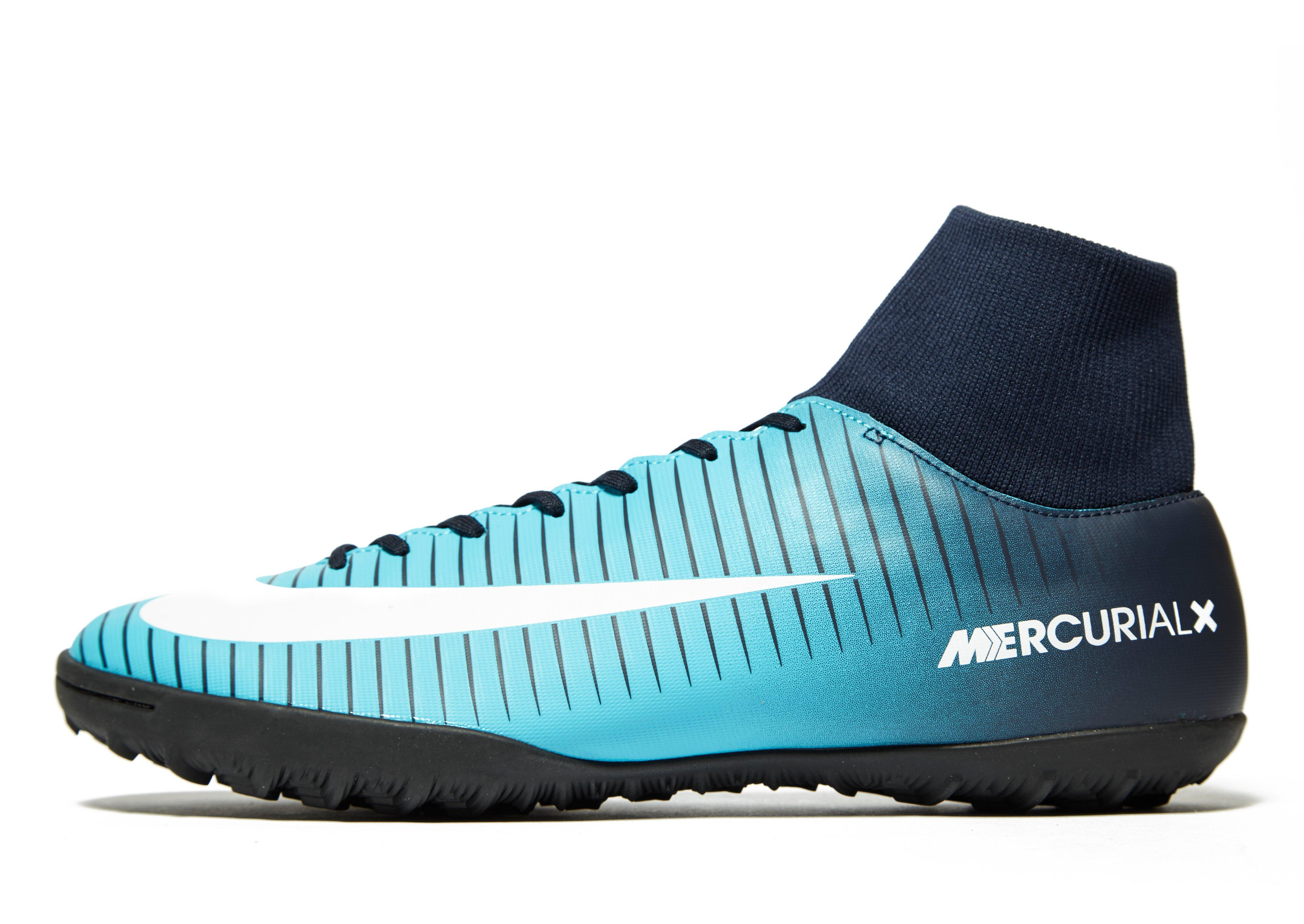 55d2c6526 Nike Fire And Ice Mercurial Veloce Dynamic Fit Tf in Blue for Men - Lyst