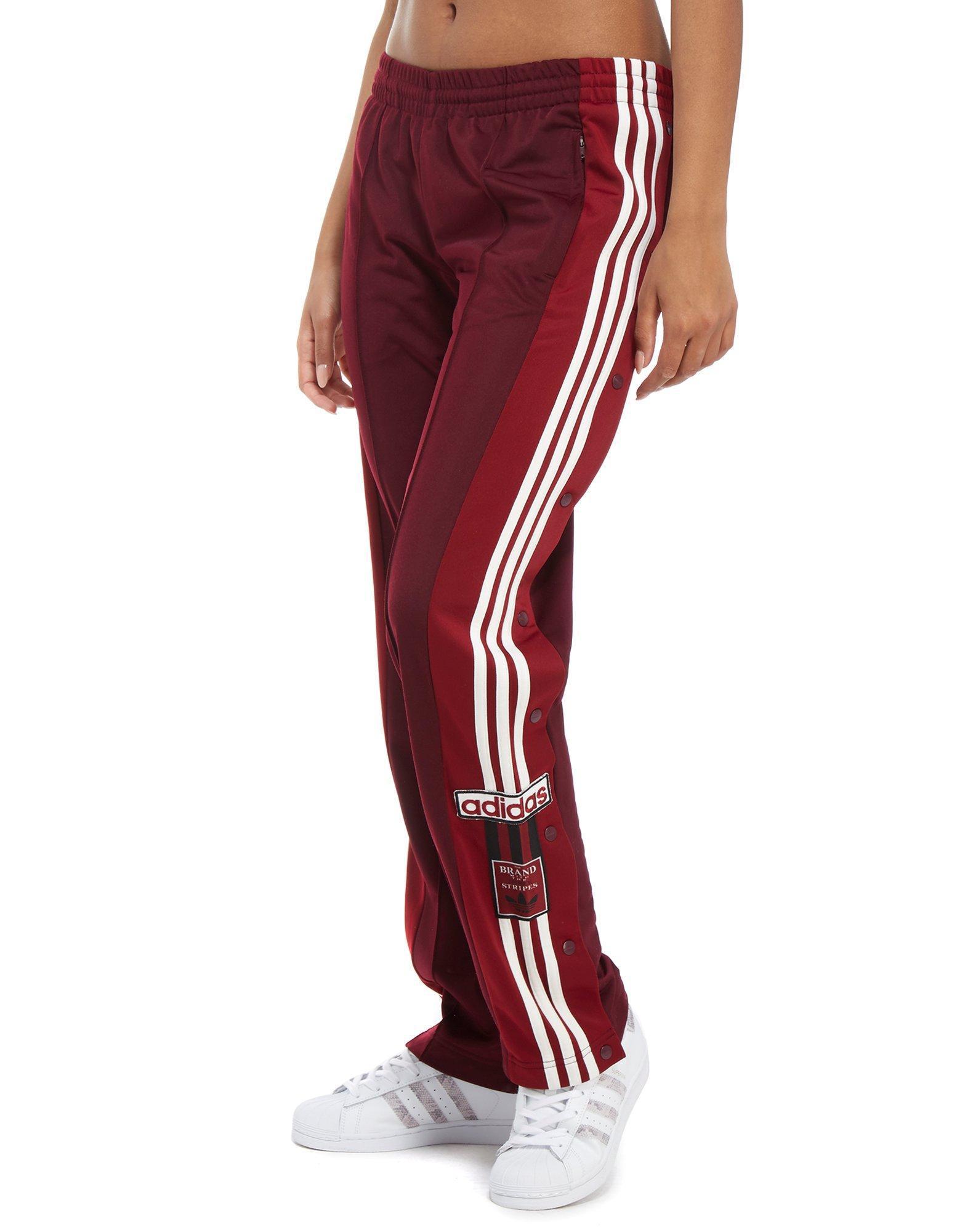aa25f44f4 adidas Originals Adibreak Track Pants in Red - Lyst