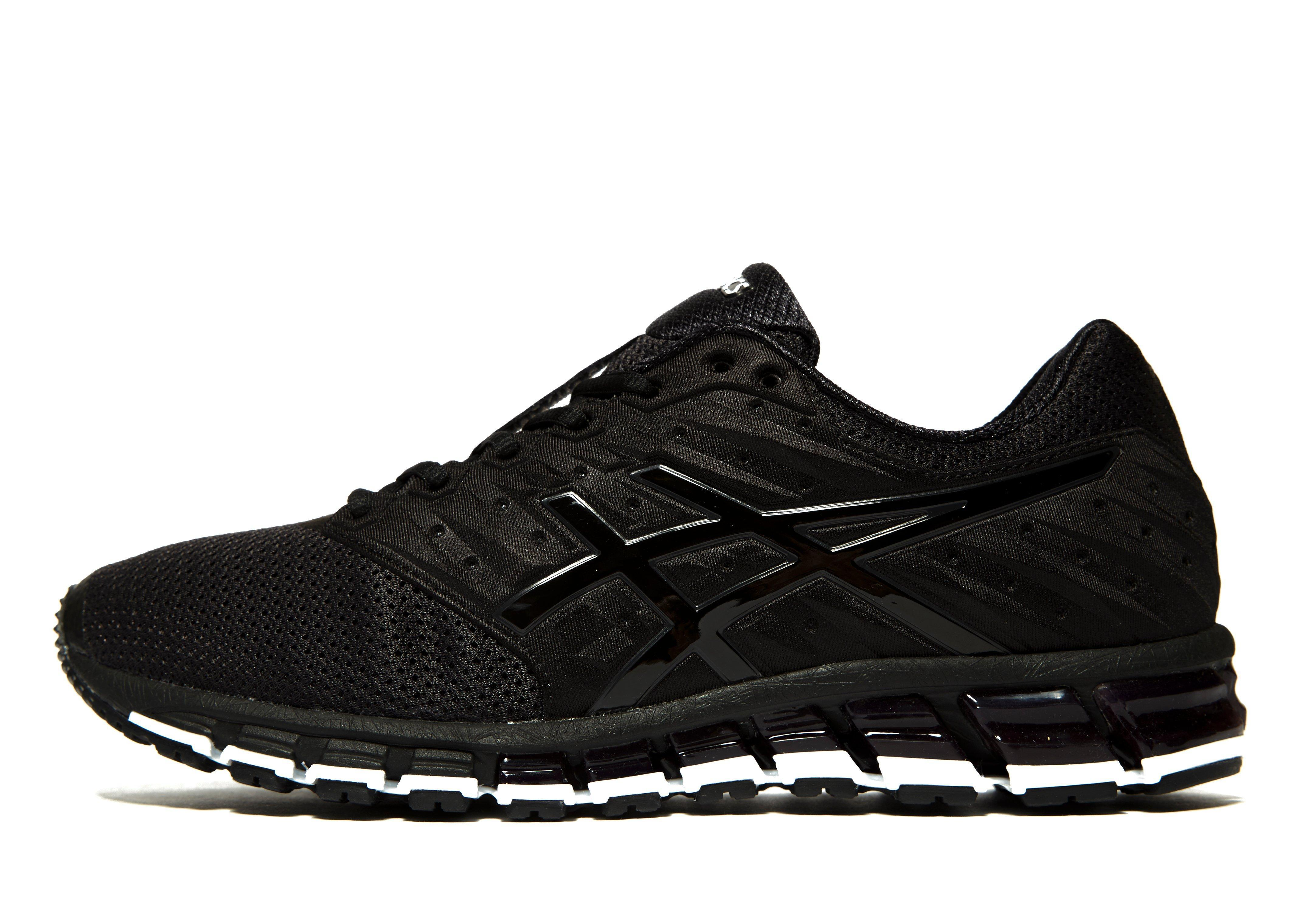 lyst asics gel quantum 180 2 in black for men. Black Bedroom Furniture Sets. Home Design Ideas