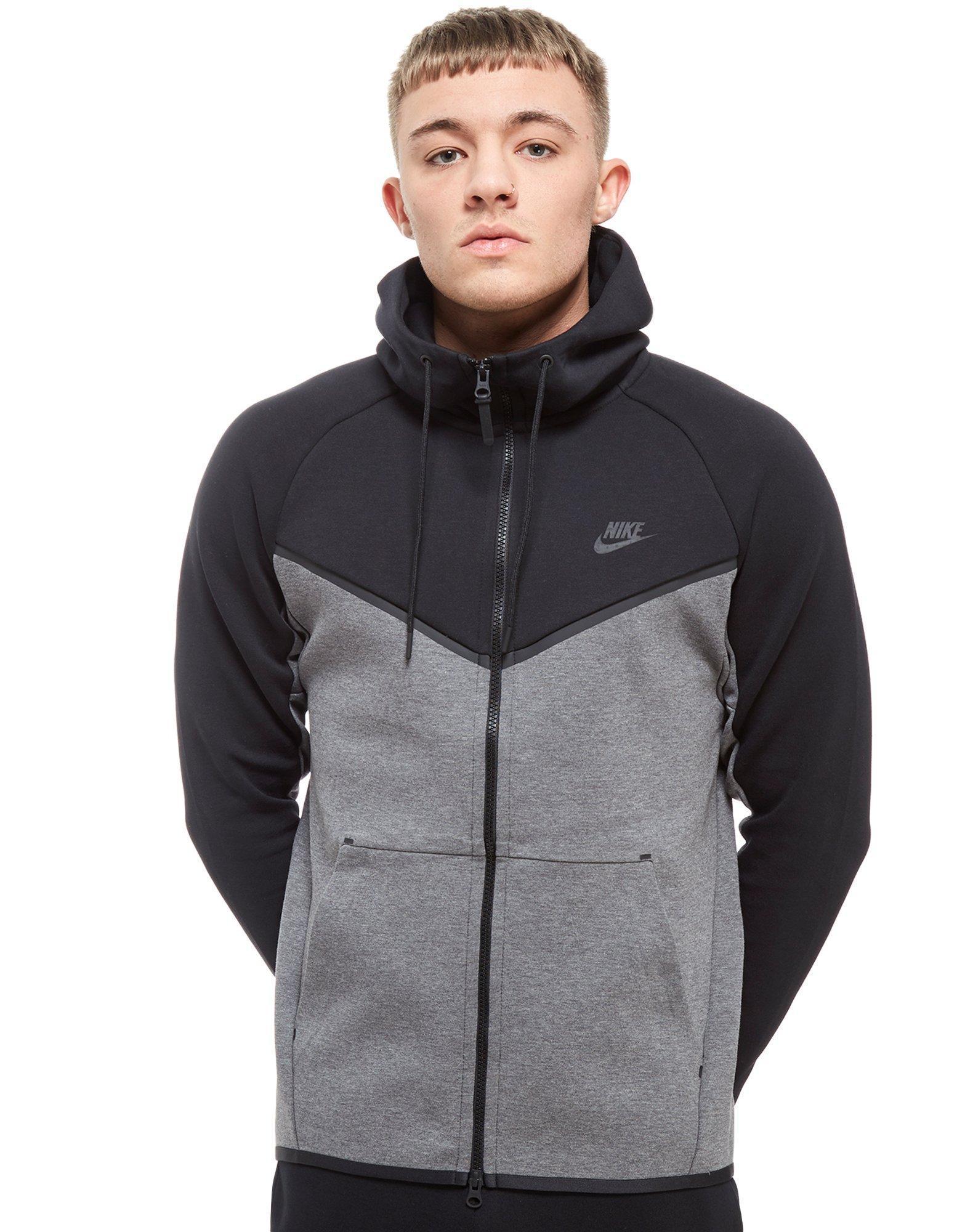 Nike. Men's Tech Fleece Windrunner Full Zip Hoodie