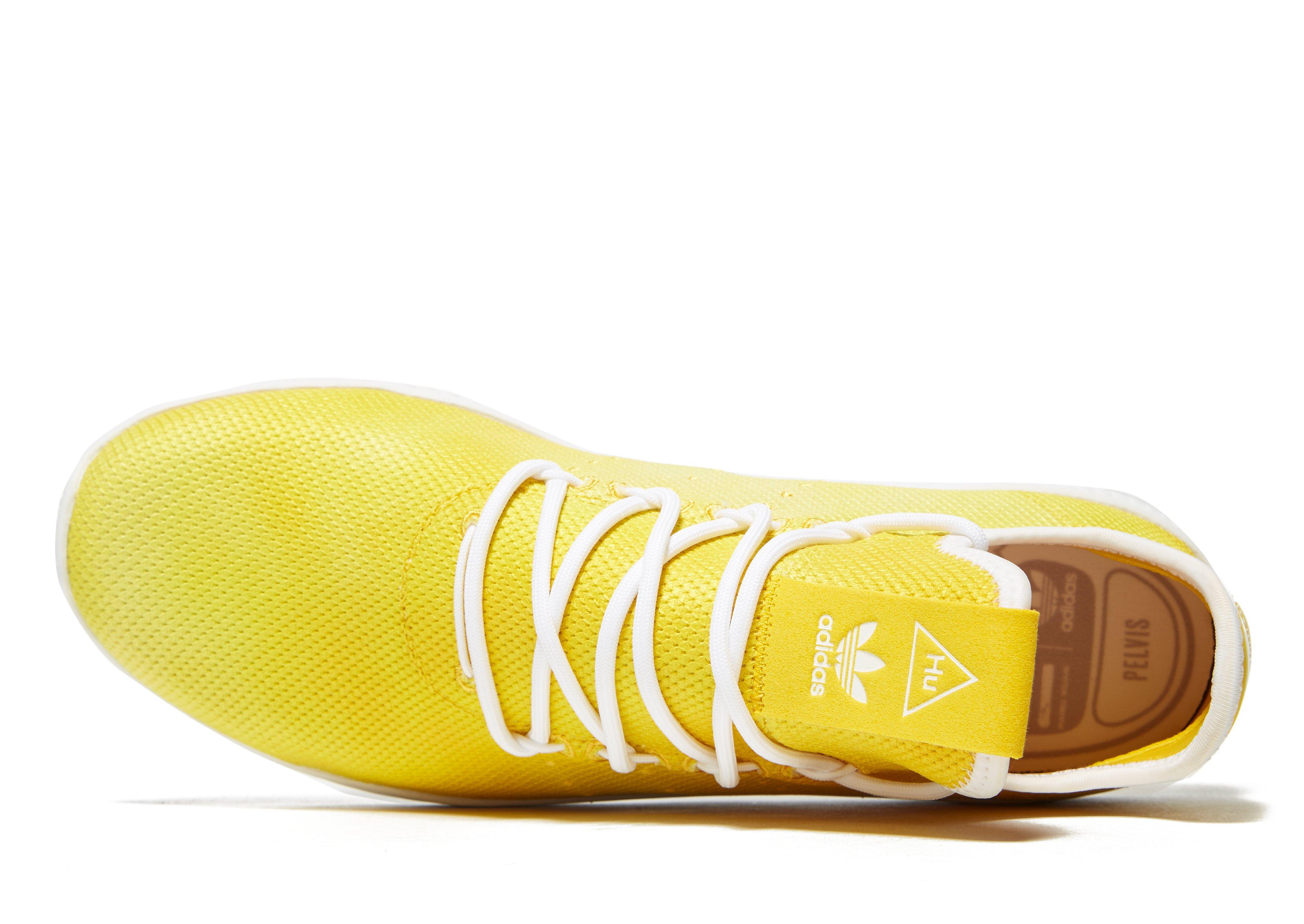 f6c4db793b1db Lyst - adidas Pw Hu Holi Tenn Wht in Yellow for Men