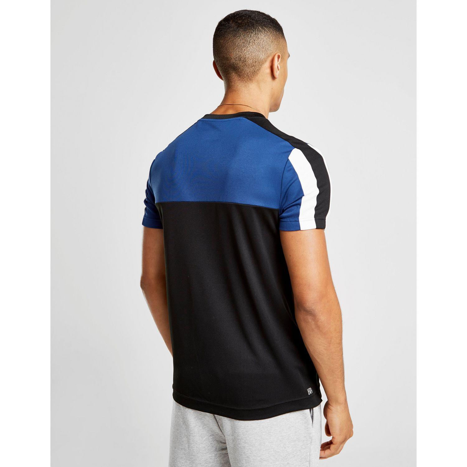 902bb640 Lacoste Sport Poly Panel T-shirt in Blue for Men - Lyst