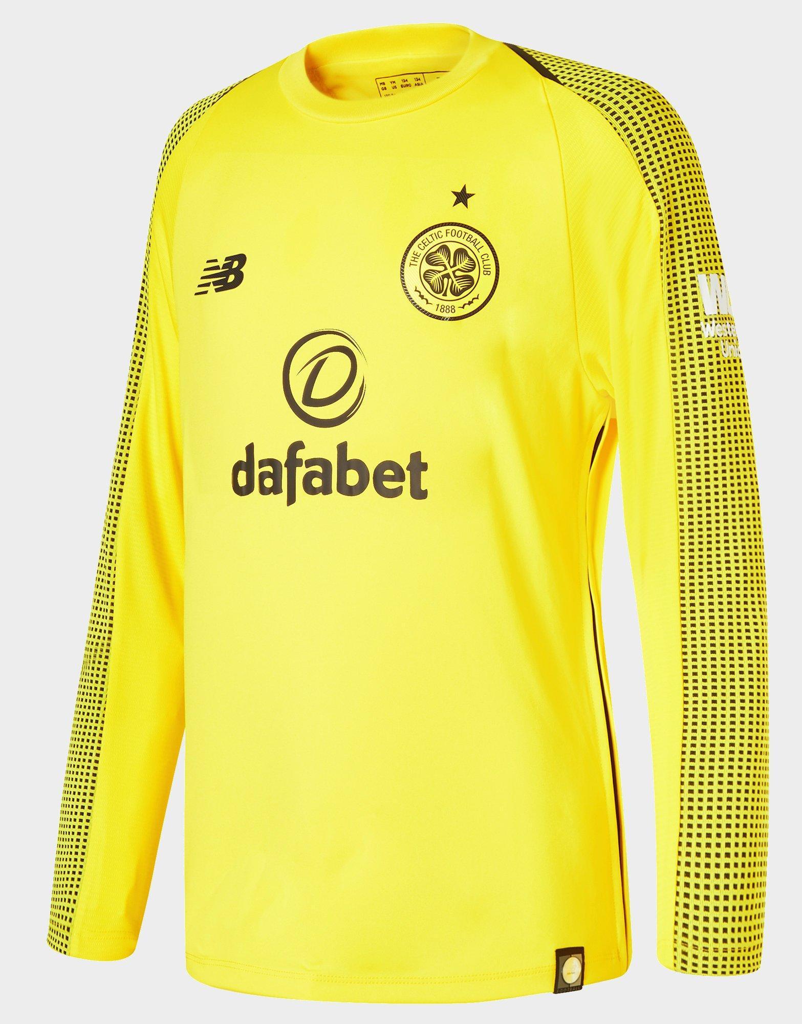 b20776842 celtic fc away jersey 17 18  new balance. mens yellow celtic fc home gk  long sleeve jersey