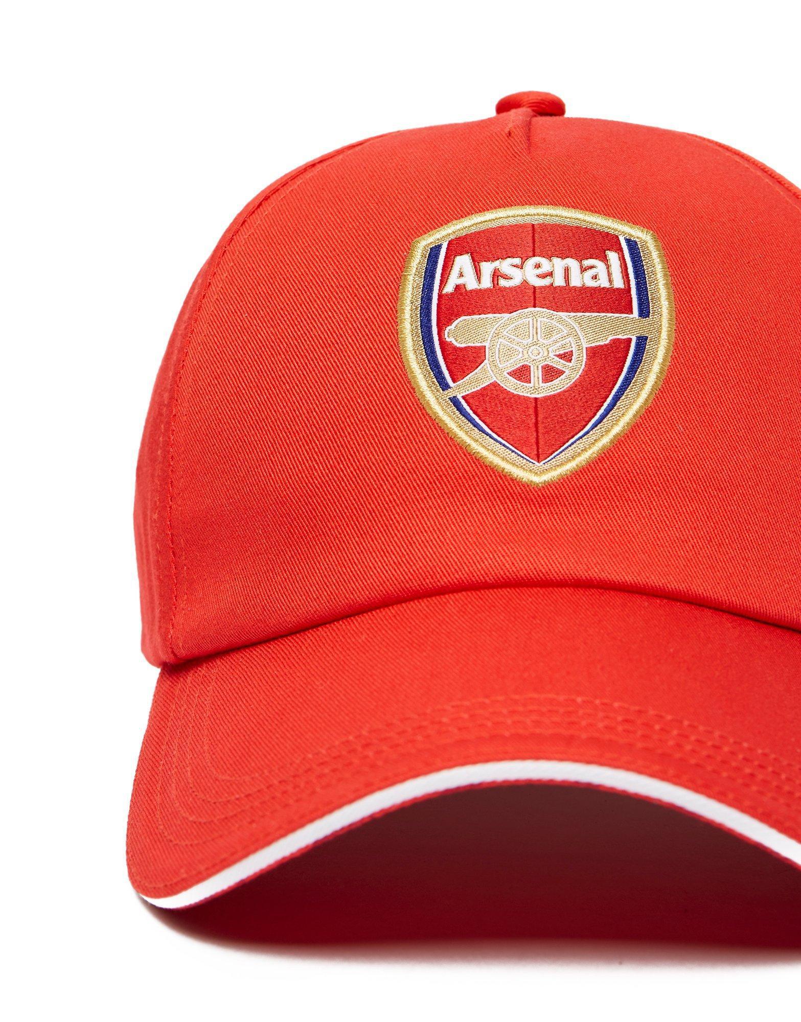 1fa2b8a2f66 Puma Arsenal Cap in Red - Lyst