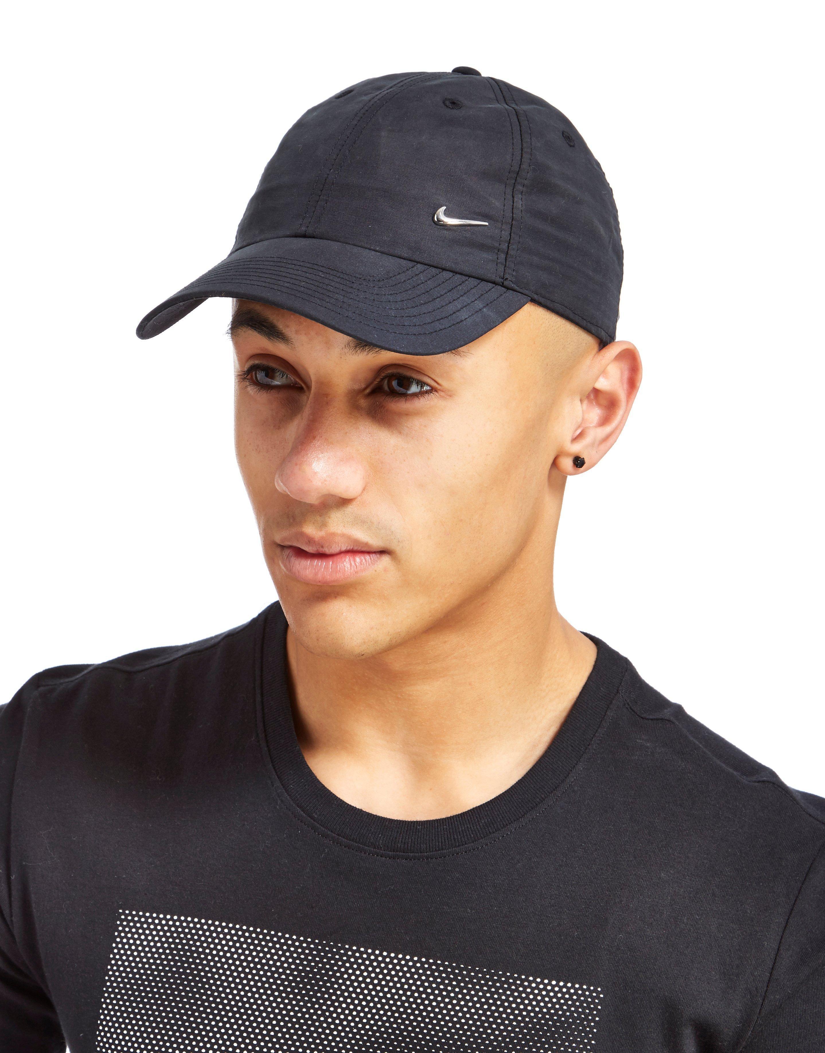 Lyst - Nike Side Swoosh Cap in Black for Men 21ece62be46