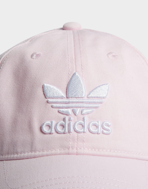 the best attitude 1bfd6 d7b59 Adidas - Pink Trefoil Classic Cap - Lyst. View fullscreen
