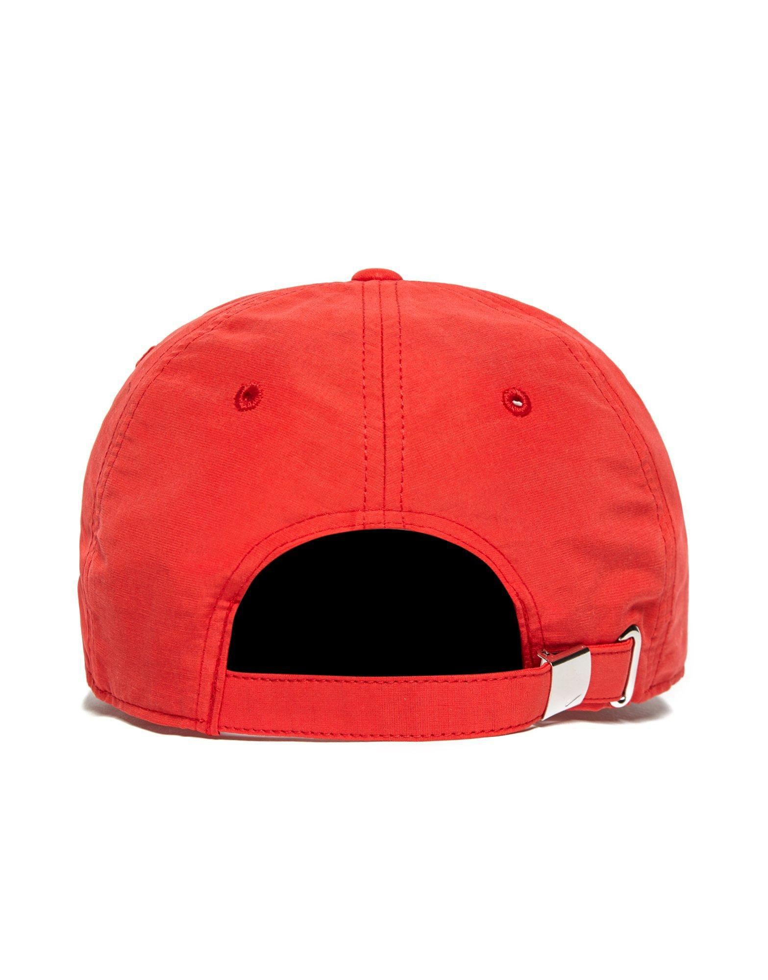 ... Black  the latest 89420 31615 Lyst - Nike Side Swoosh Cap in Red for Men  ... da7a43ccbaed