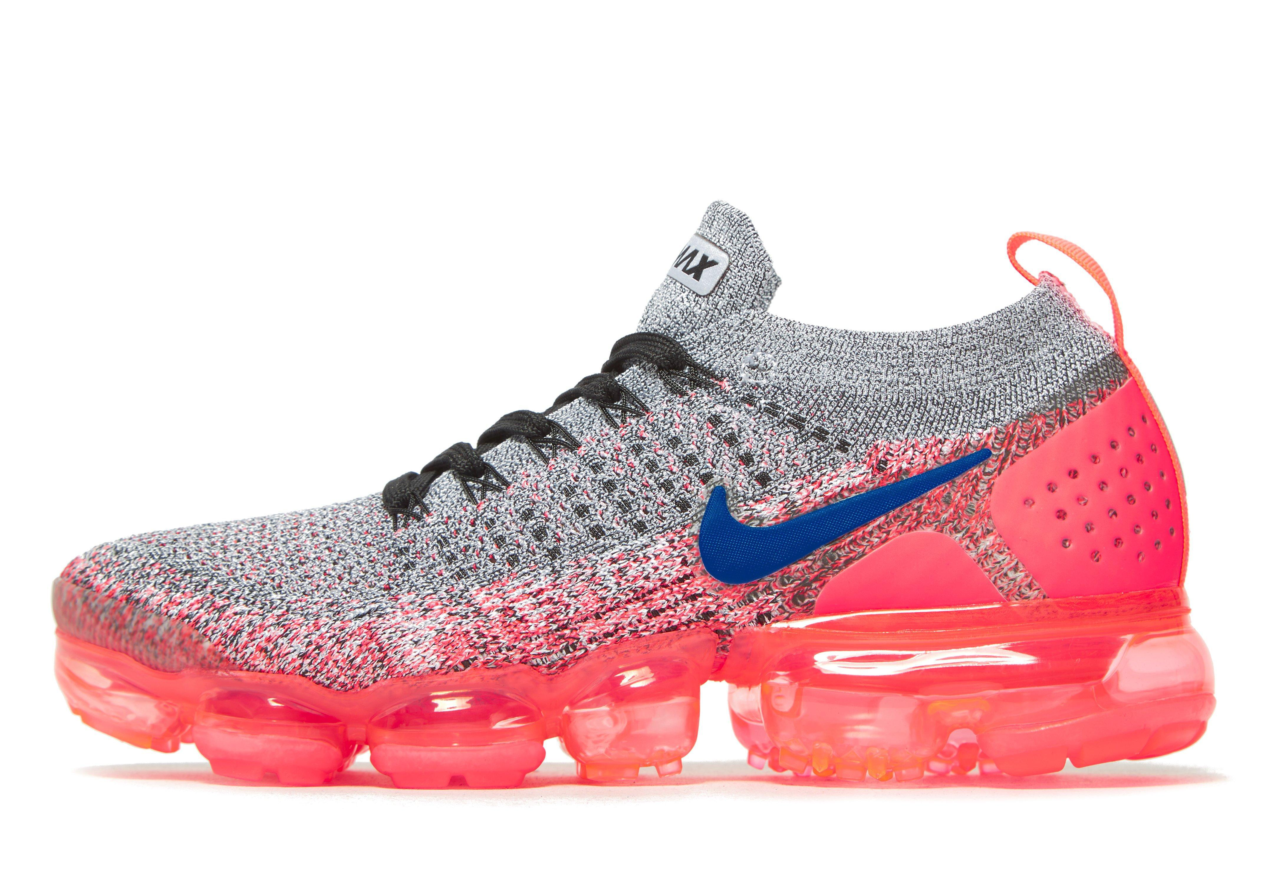 differently ceb44 43eb4 ... sale nike air vapormax flyknit 2 in pink for men lyst 5383e b1e9c