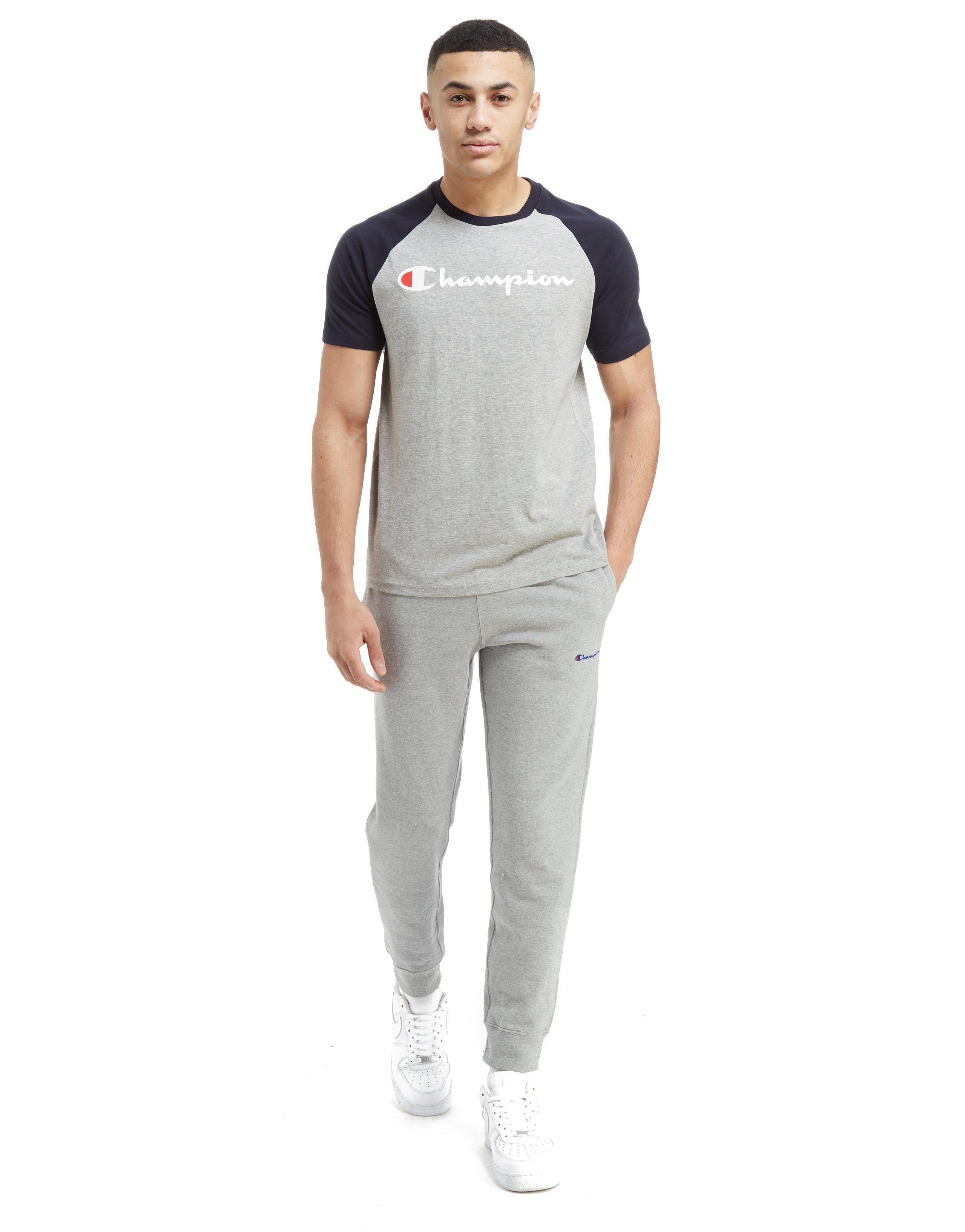20e0a564fce5 Champion Mens Powertrain Long Sleeve Raglan T Shirt – EDGE ...