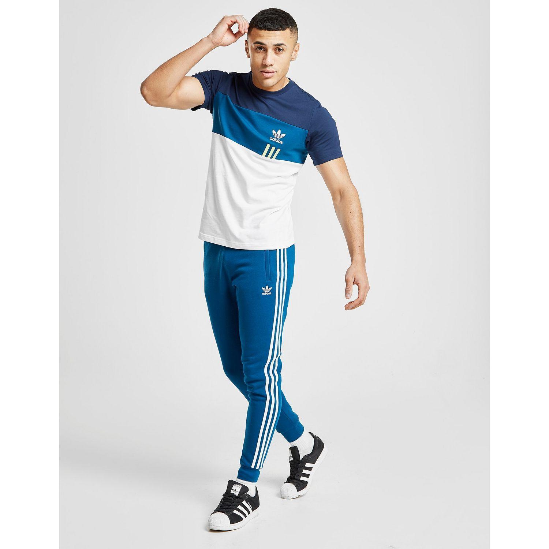 dd50152ed Adidas Originals - Blue Id96 T-shirt for Men - Lyst. View fullscreen