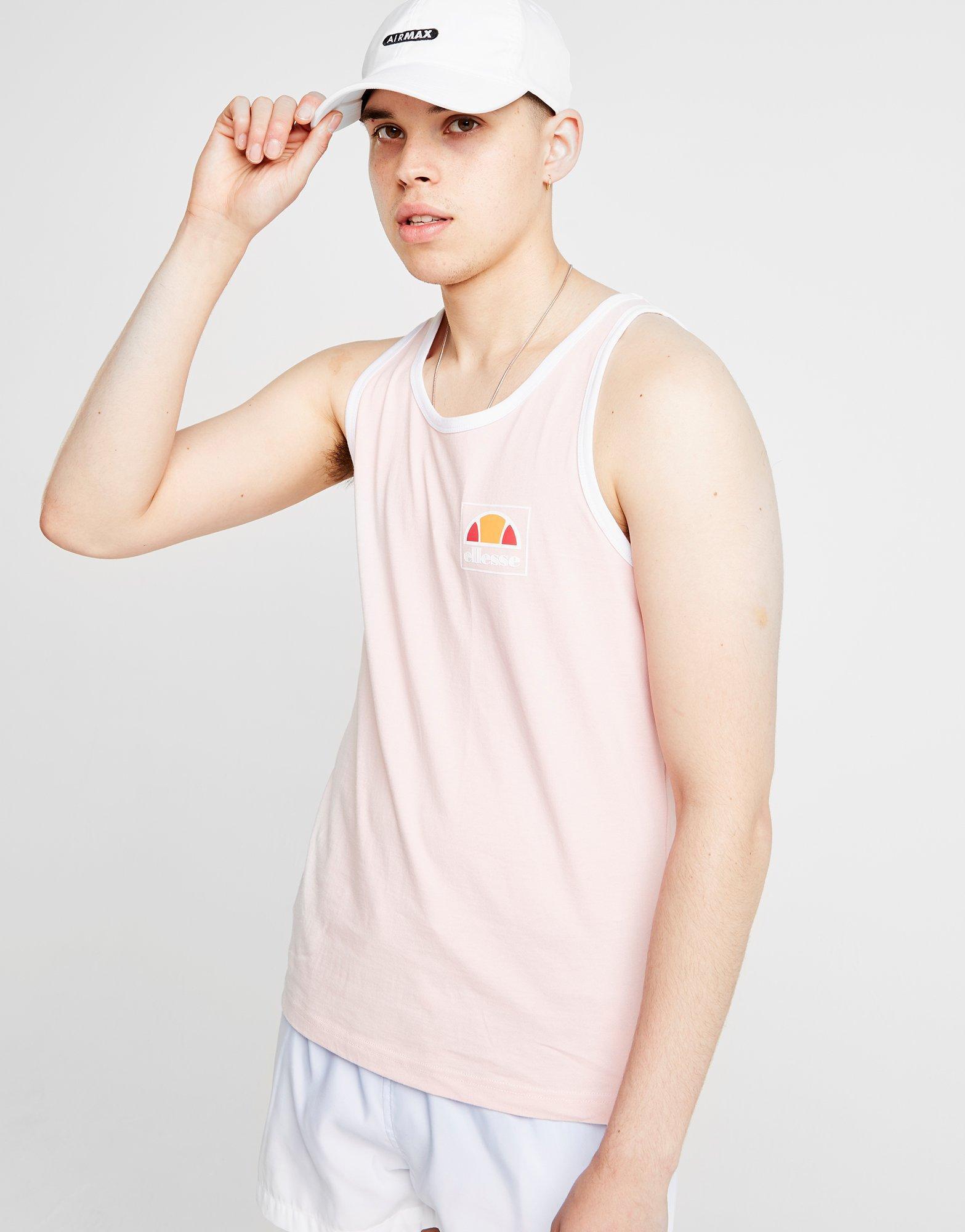 80e9a94aa20 Ellesse Vanzio Vest in Pink for Men - Lyst