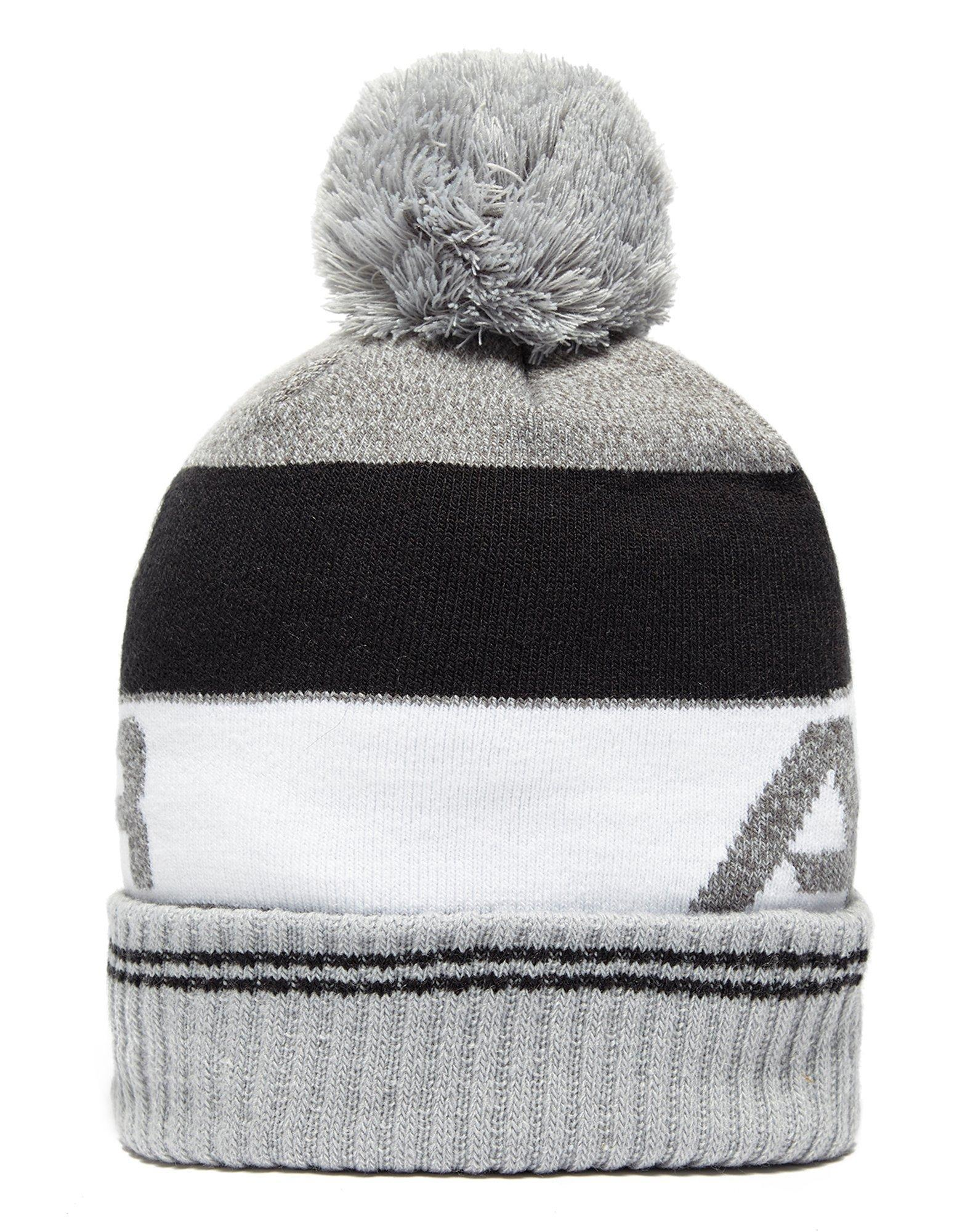 low priced c89bc d11dd Lyst - Under Armour Retro Pom 2.0 Beanie Hat in Gray for Men