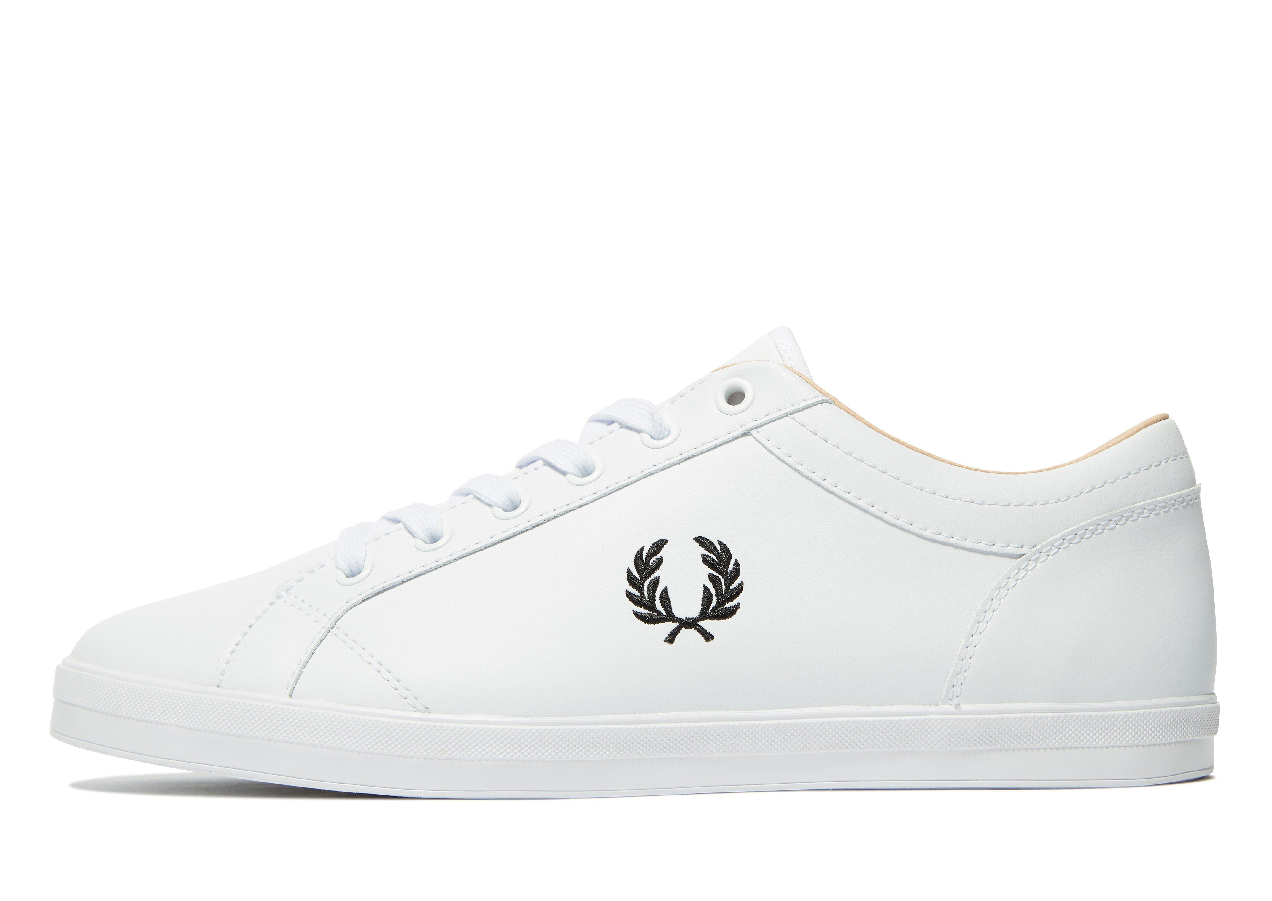 Fred Perry Baseline Leather Trainers In White cheap wholesale price discount many kinds of DC9KhcW