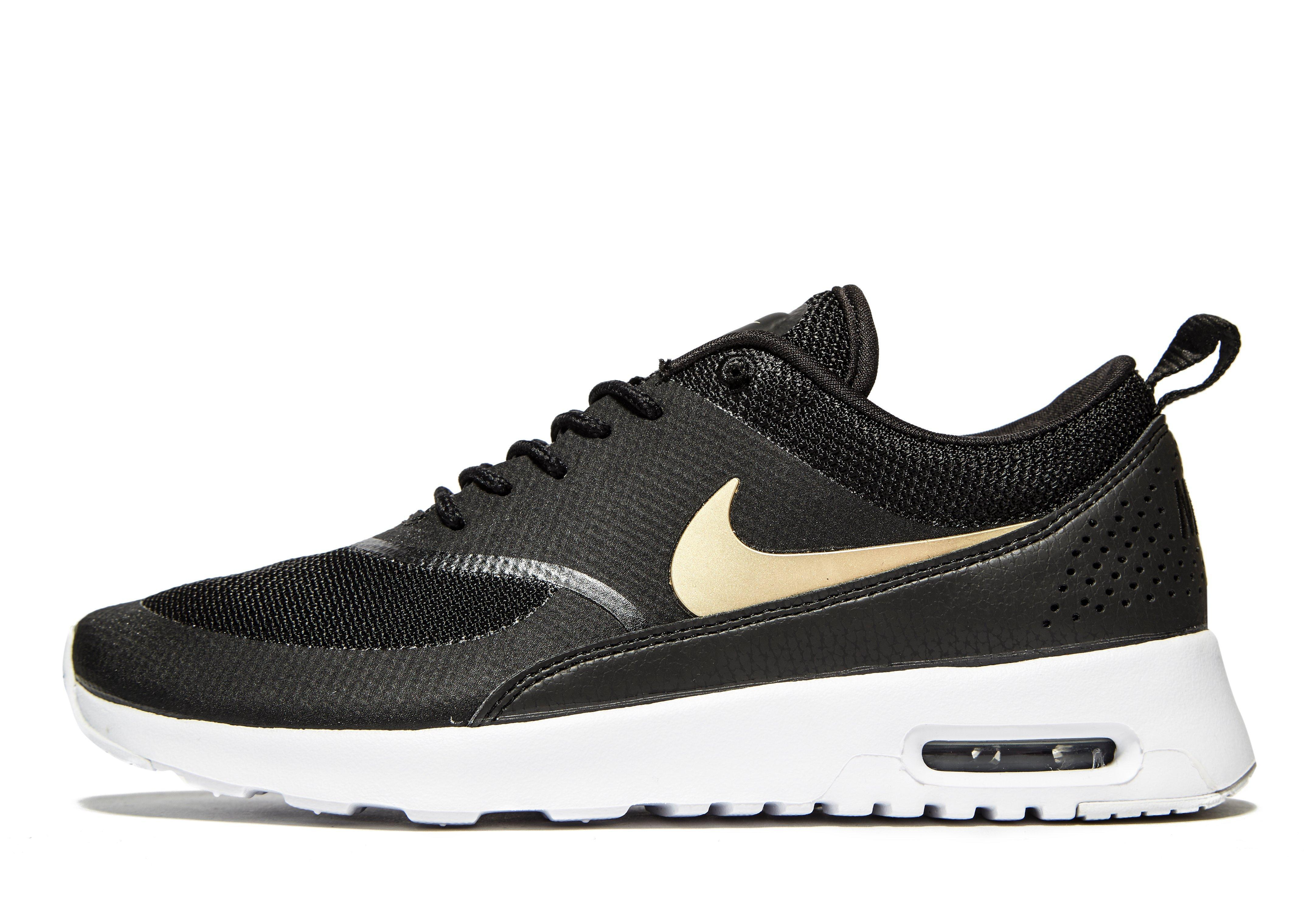 lyst nike air max thea in black for men. Black Bedroom Furniture Sets. Home Design Ideas