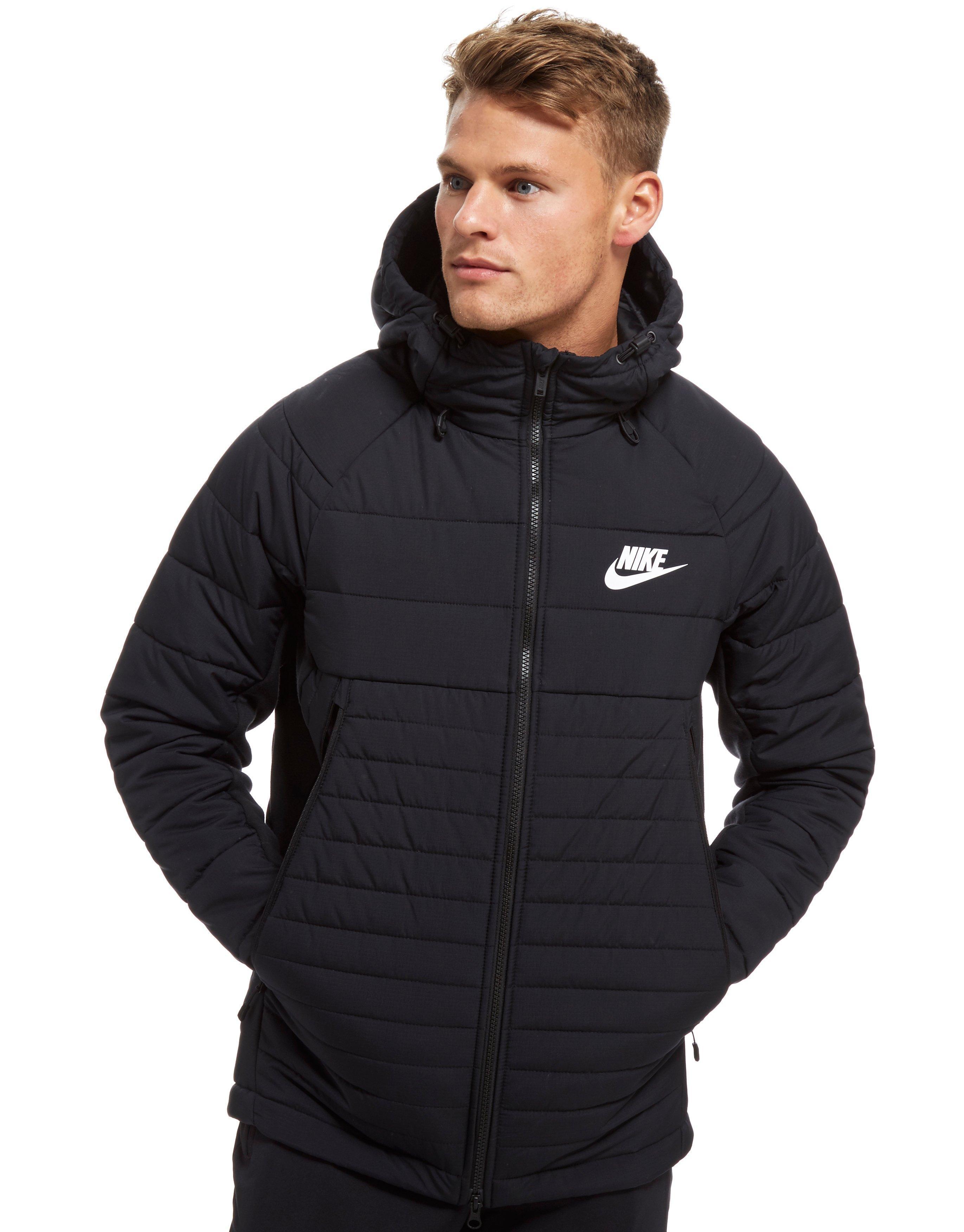 7ffcc6d7c759 Lyst - Nike Sportswear Hooded Down Jacket in Black for Men