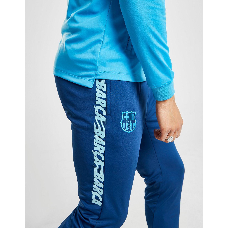 Nike Fc Barcelona Dri-fit Squad Men s Football Track Suit in Blue ... 8d9f38fa9