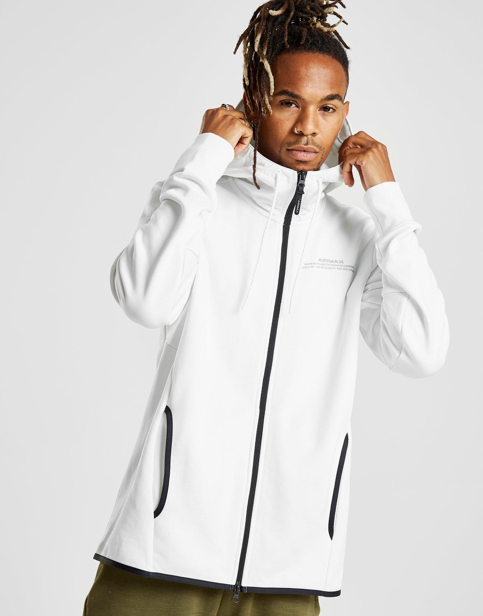 f0c0f4895cb7 Lyst - Nike Air Max French Terry Hoodie in White for Men