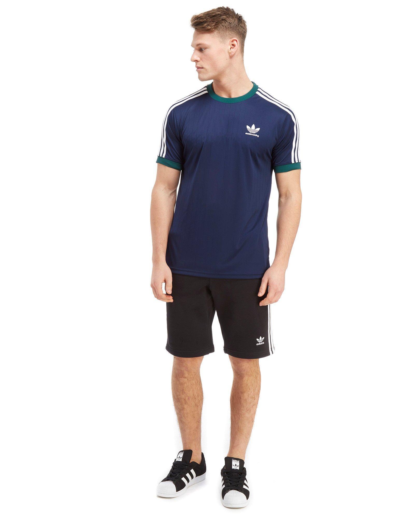 adidas Originals Skateboarding Poly California T shirt in