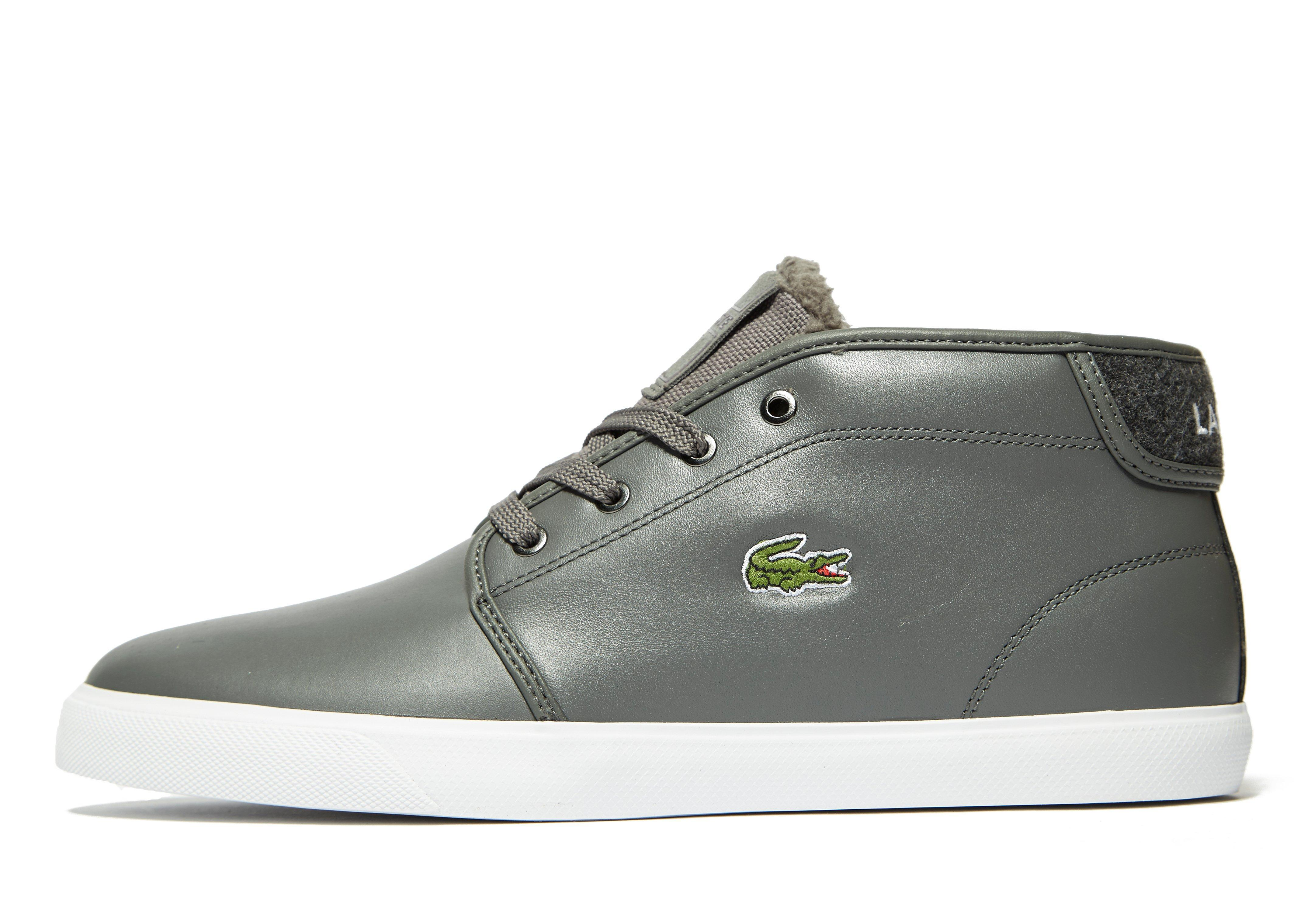 8e1cd59ce Lyst - Lacoste Amphtill in Gray for Men