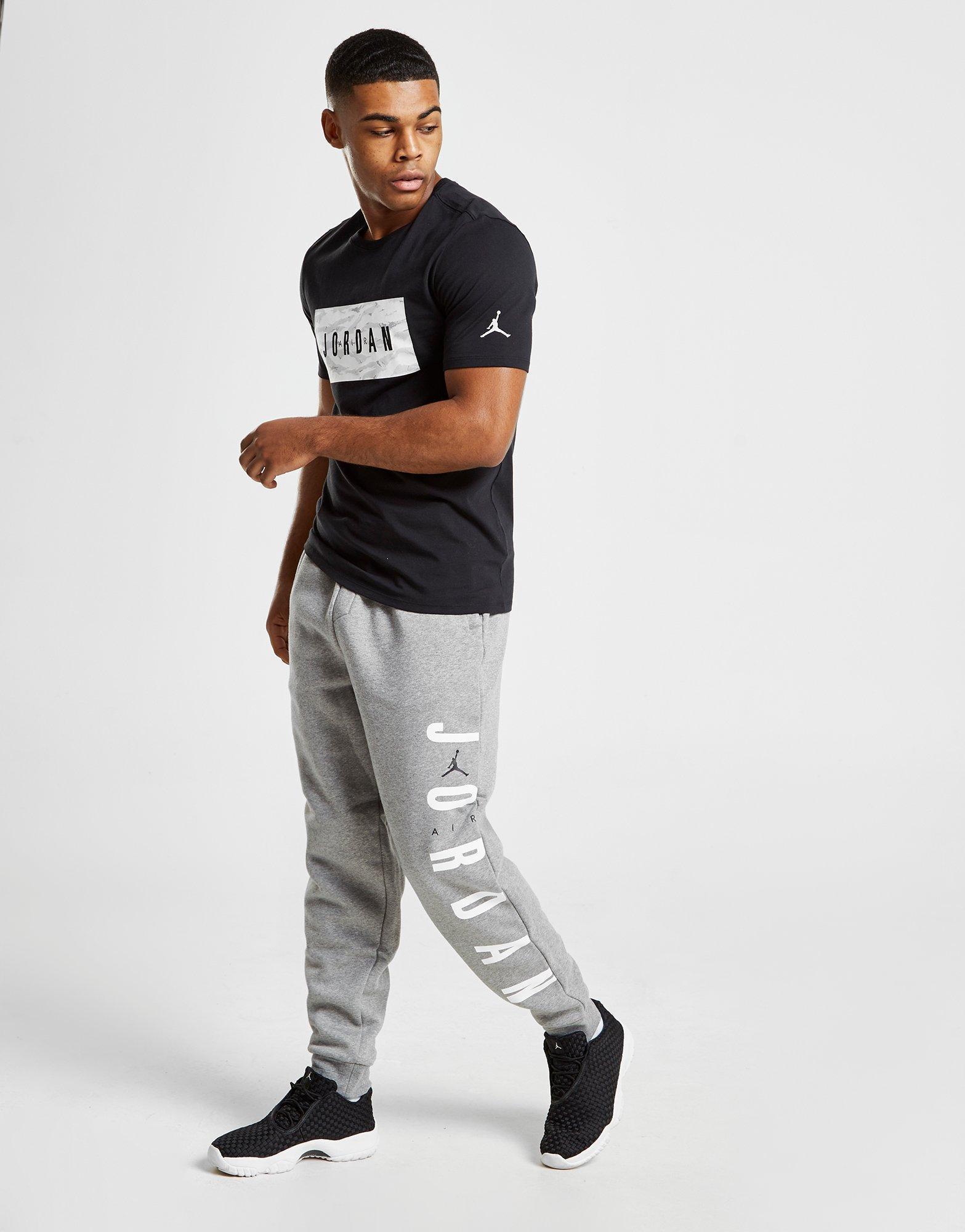 82f2f2d7737edd Nike Jordan Sportswear Jumpman Air Men s Fleece Trousers in Gray for ...