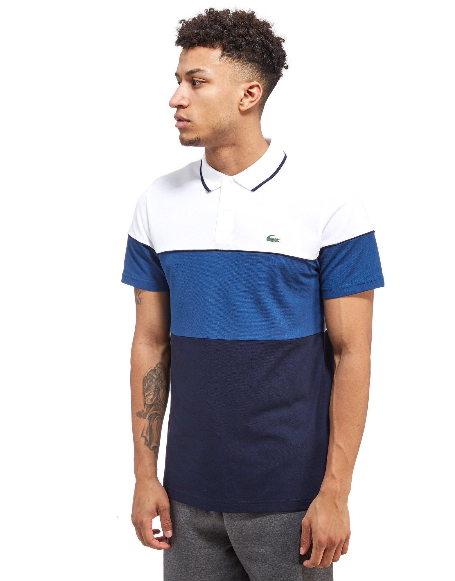 0a34d3286b Lacoste Pique Polo Shirt in Blue for Men - Lyst