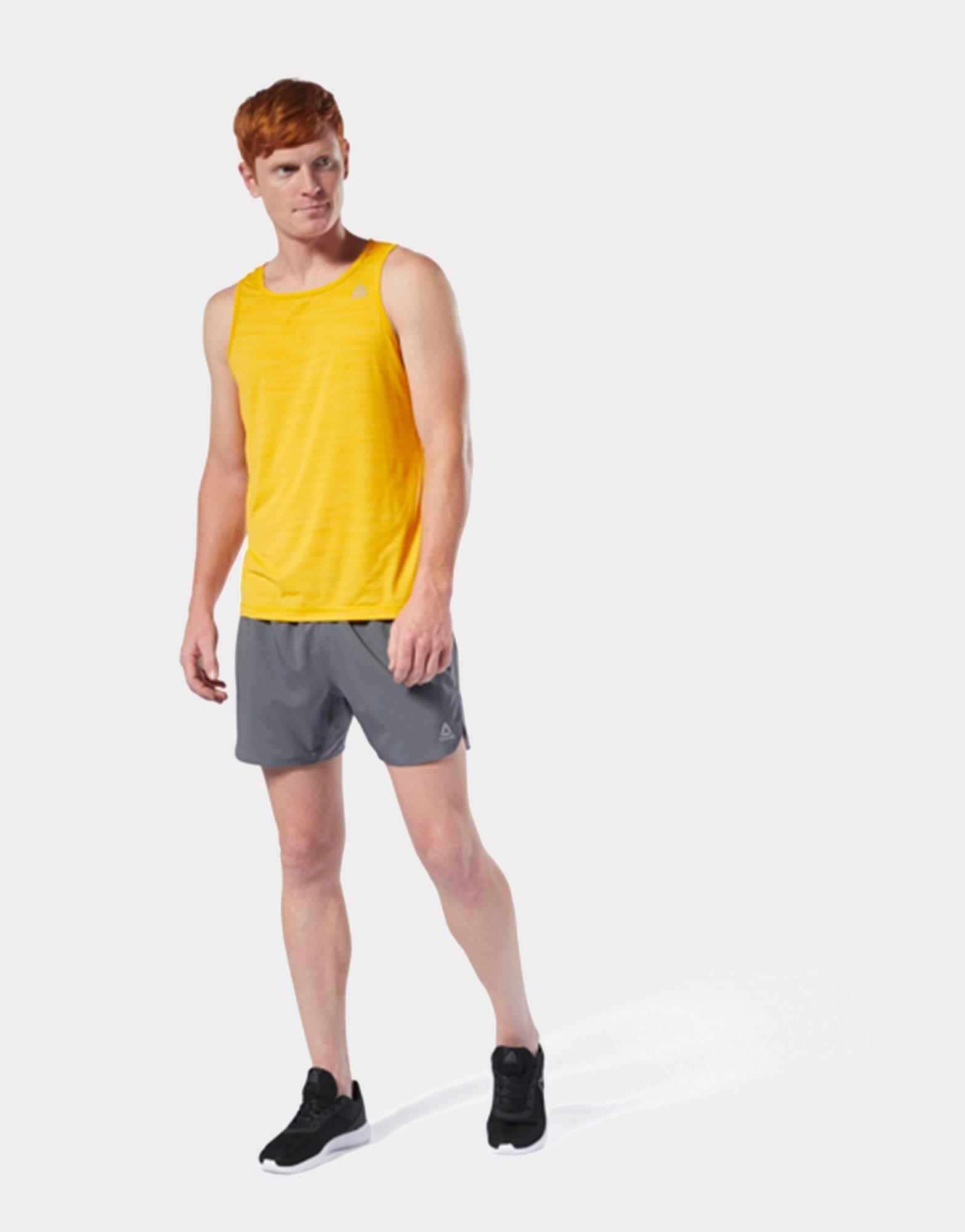 Lyst Reebok Run Essentials 5 inch Shorts in Gray for Men