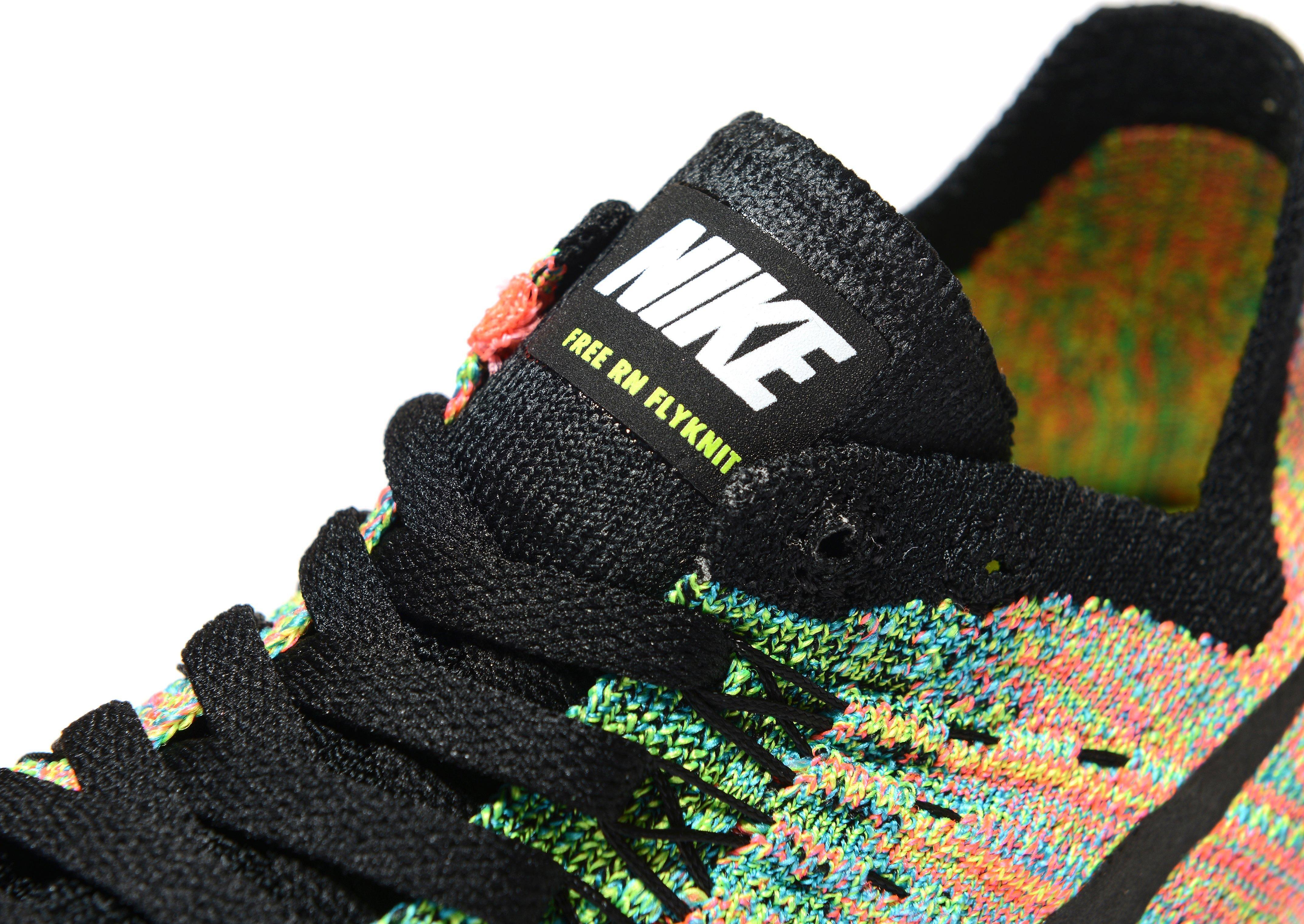 28c58c0c46 Nike Free Run Flyknit 2017 Junior in Black for Men - Lyst
