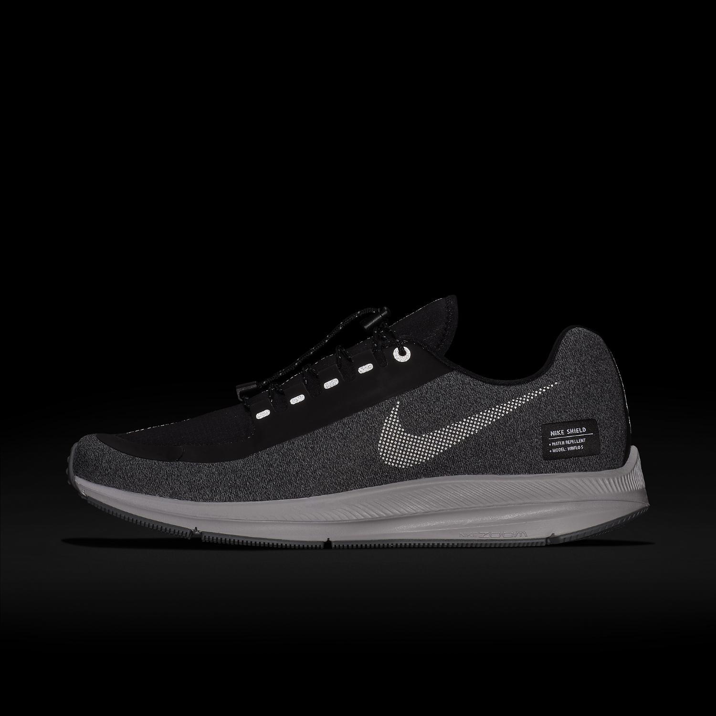 eee2b67d0dd5 Lyst - Nike Air Zoom Winflo 5 Run Shield Running Shoe in Gray for Men