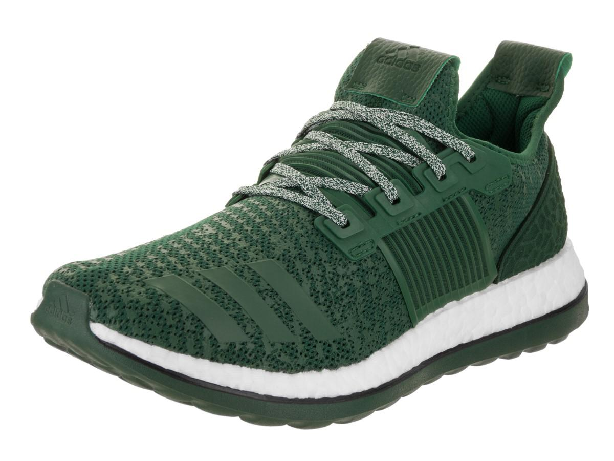 c384a3e7c3854 Lyst - adidas Pureboost Zg Green white Running Shoe 8.5 Men Us in ...