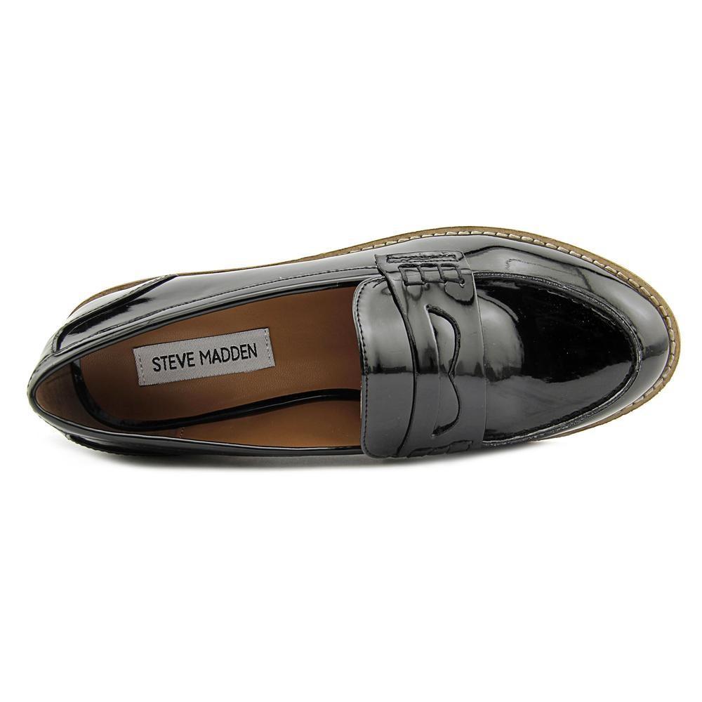 d153a095776 Lyst - Steve Madden Cyylo Women Us 7 Black Loafer in Black