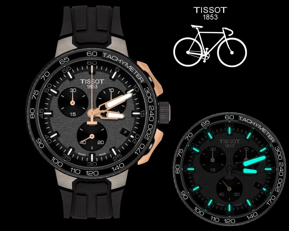 062796390f9 Lyst - Tissot 44.5mm in Black for Men - Save 33%