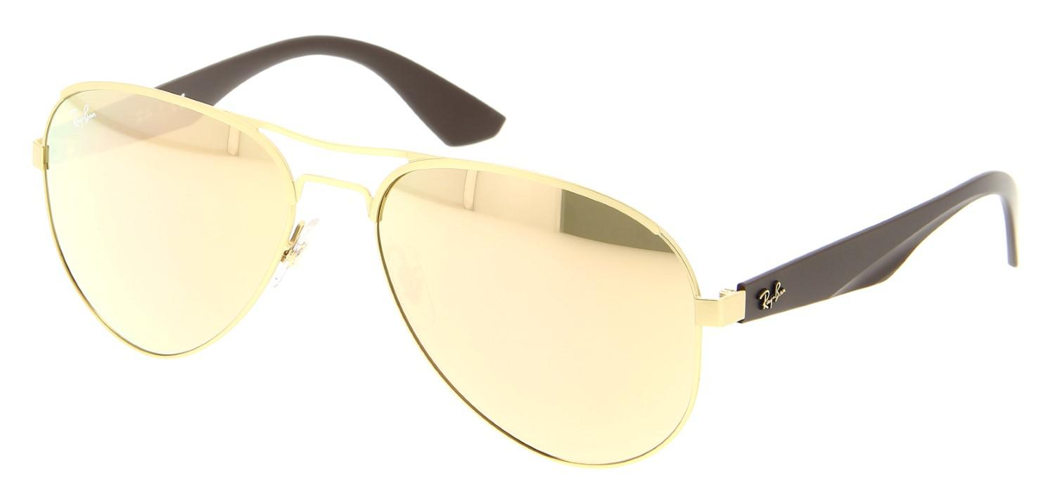 9fe71b90981 Lyst - Ray-Ban Sunglasses Rb 3523 112 2y Matte Gold in Metallic for Men
