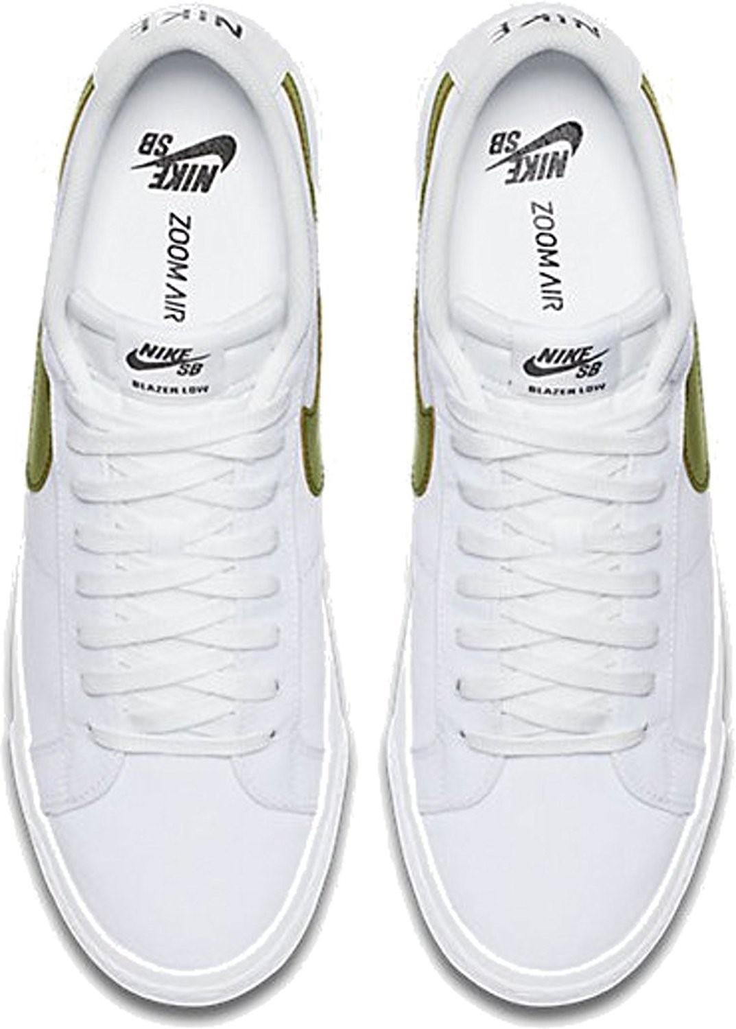 5bdb716a8f8f Lyst - Nike Sb Blazer Zoom Low Canvas Shoes in White for Men