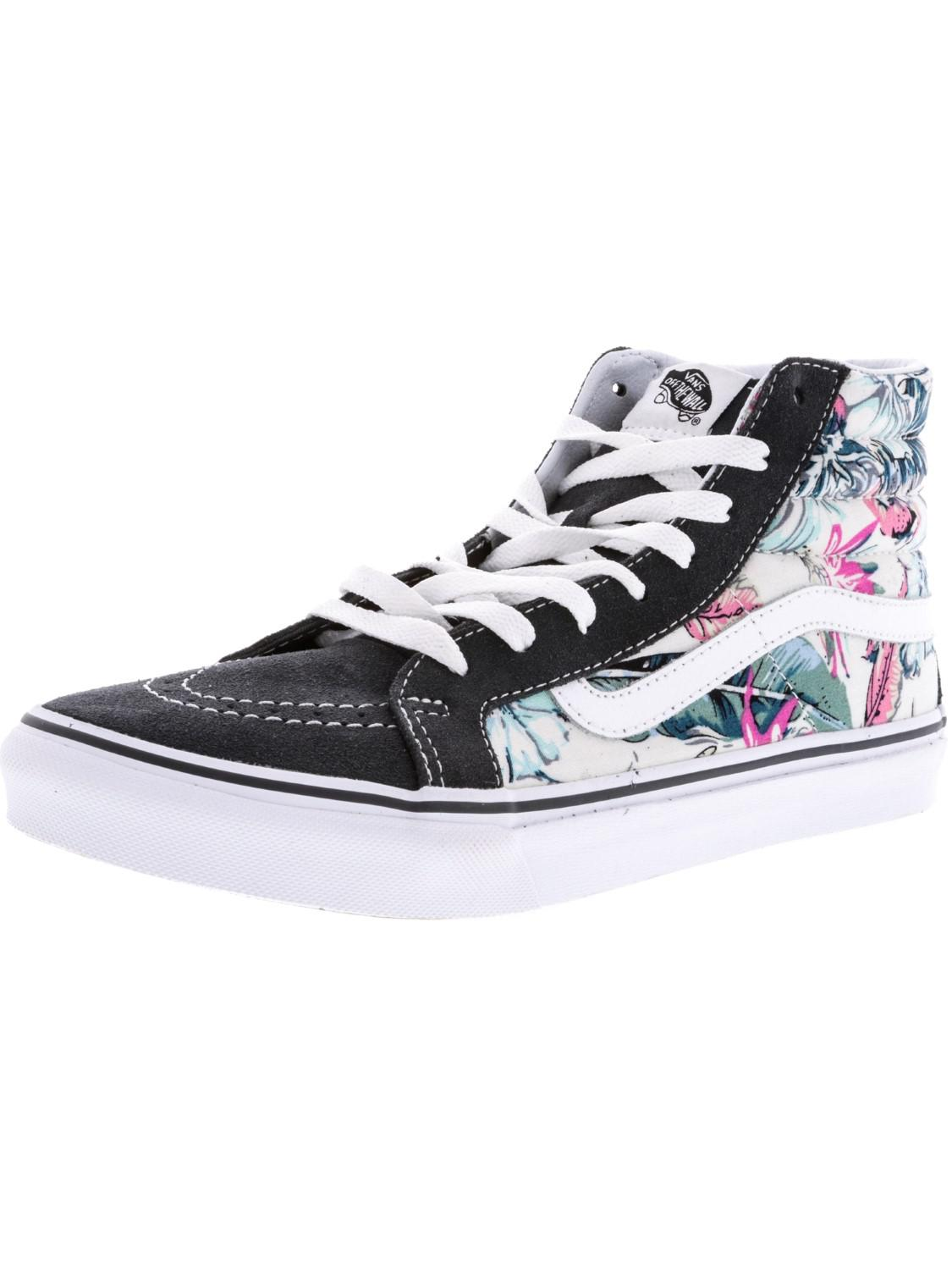 53a2de3800 Lyst - Vans Sk8-hi Slim Tropical High-top Fabric Skateboarding Shoe ...