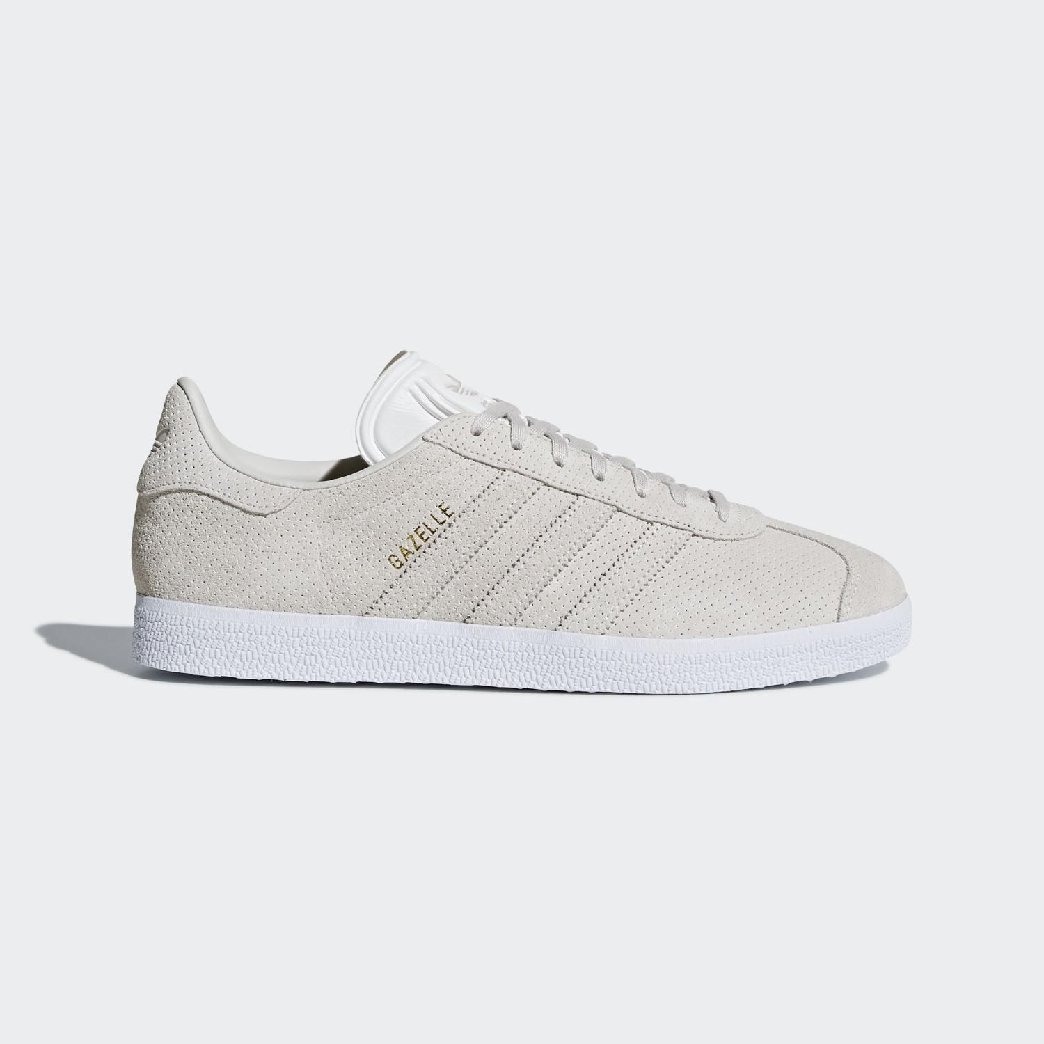 pretty nice 66f81 a6957 Lyst - Adidas Gazelle Shoes in Gray for Men