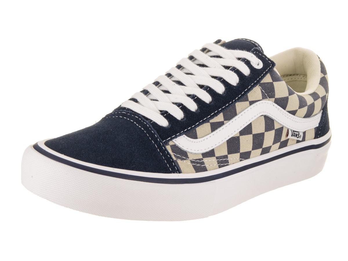 06678f7170 Lyst - Vans Old Skool Pro (checkerboard Suede) Dsb w Skate Shoe 9.5 ...