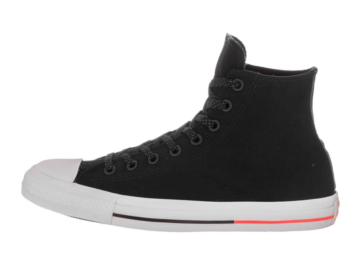 5bad7c05f41ed8 Lyst - Converse Unisex Chuck Taylor All Star Hi Black white lava ...