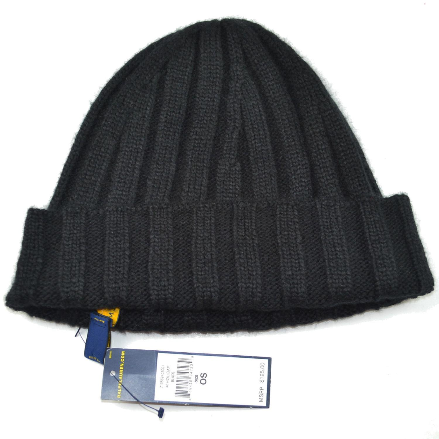 Lyst - Polo Ralph Lauren Cable Knit Solid Slouchy Beanie Hat in ... c8b7cbde3