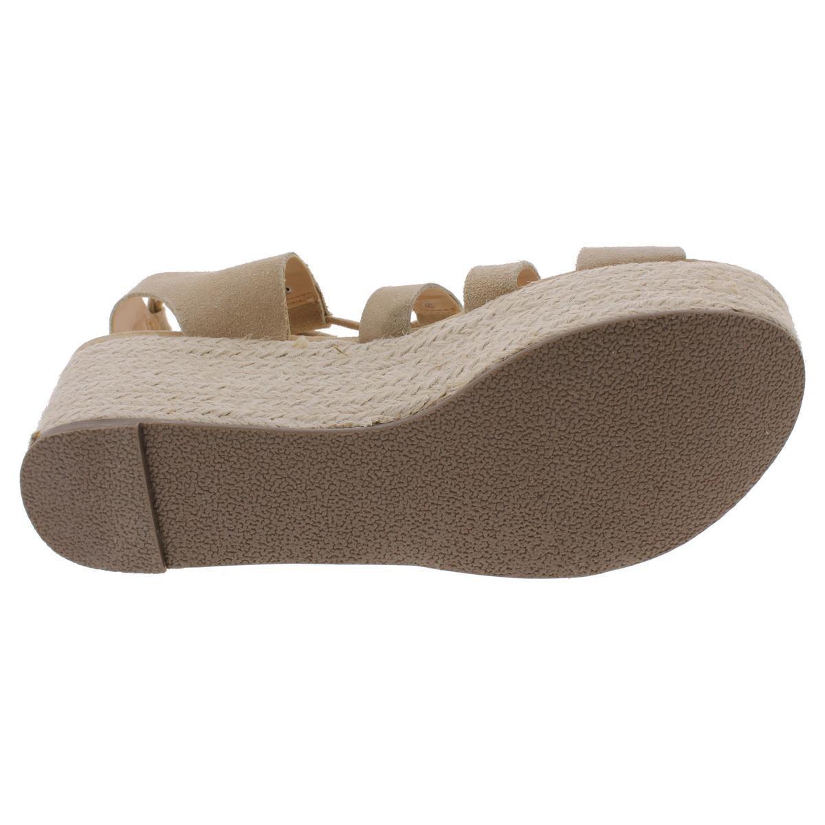 ff50b1c7e1b Lyst - Steve Madden Brayla Suede Ghillie Platform Sandals