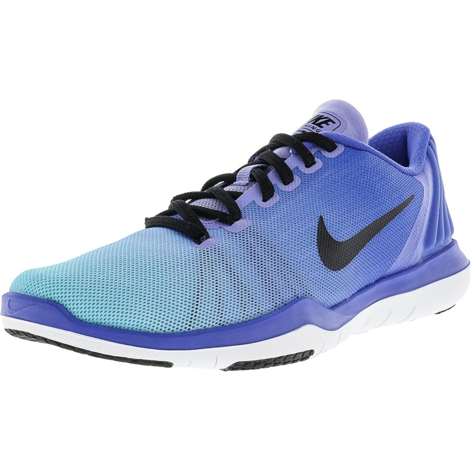 408ee2fa4930 Lyst - Nike Flex Supreme Tr 5 Fade Medium Blue   Black Still Ankle ...
