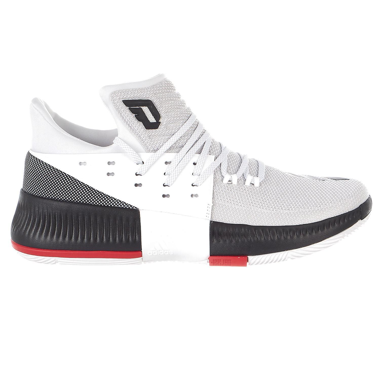 on sale 792a1 f81fb Lyst - Adidas Dame 3 Whiteblackscarlet in White for Men